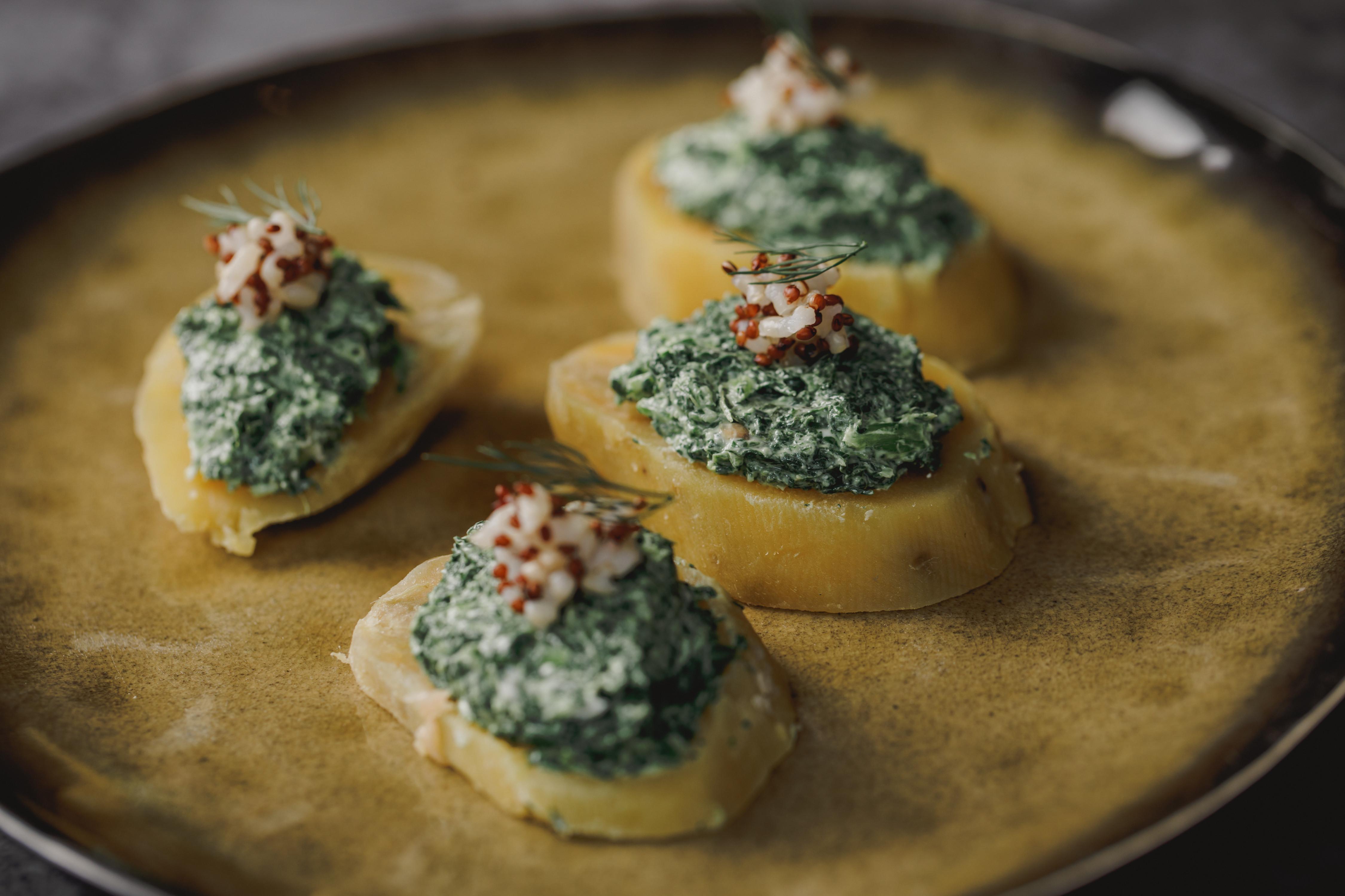 低醣料理 <蔬菜> 瑞可達乳酪抹醬地瓜