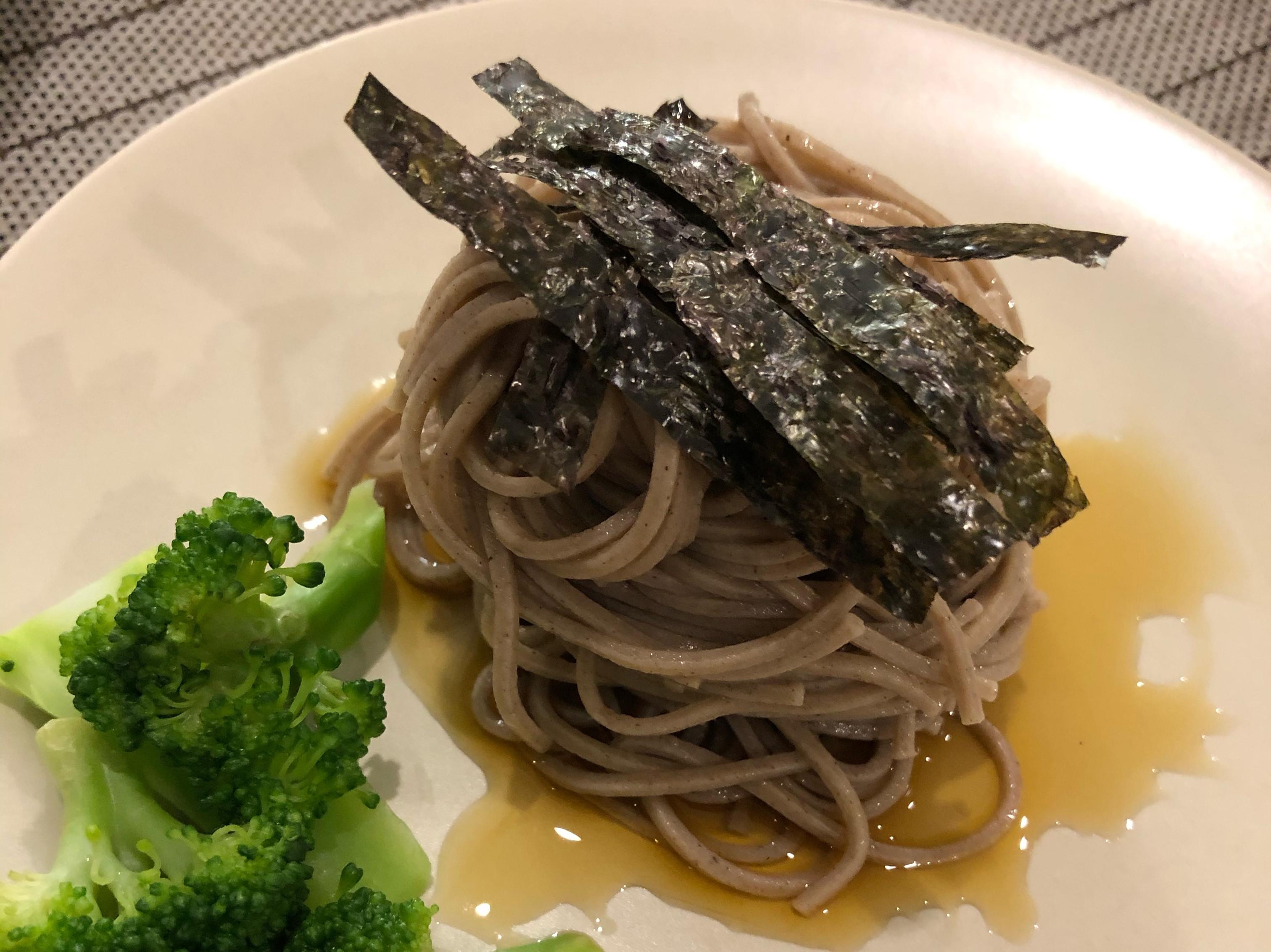 日式冷蕎麥麵(Soba)