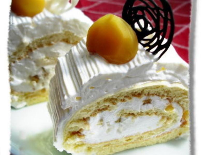 栗子蛋糕捲