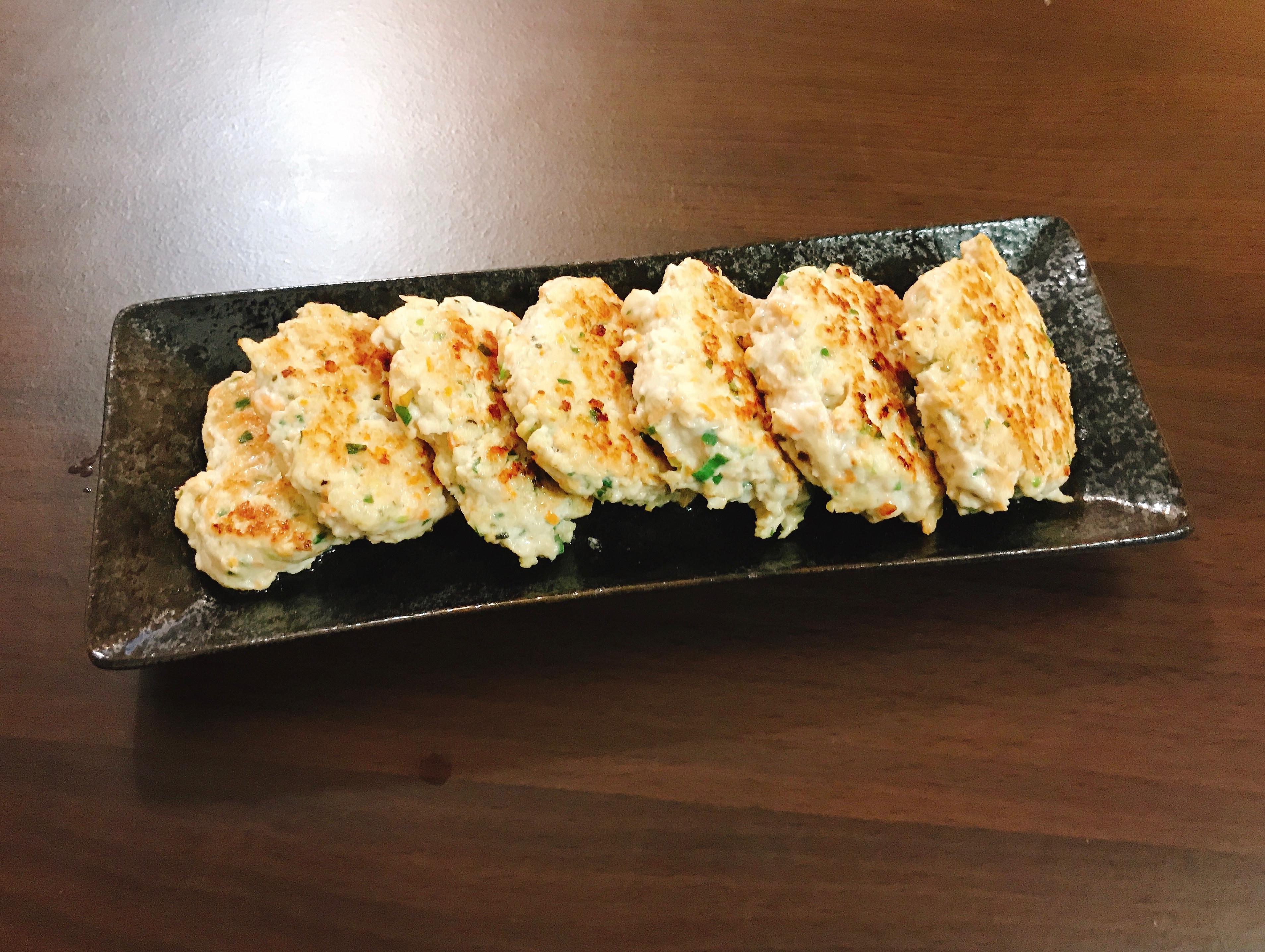 雞肉山藥蔥煎餅(低卡到不行)
