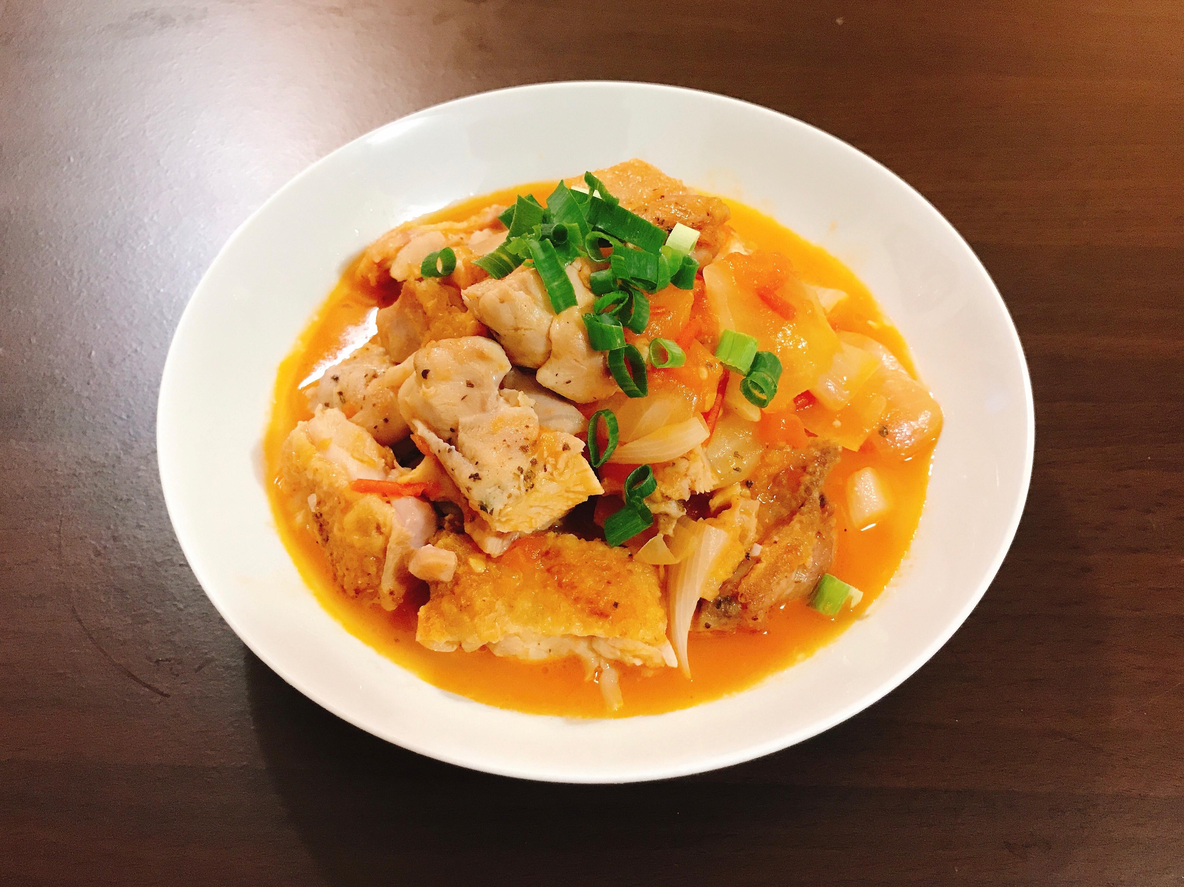 糖醋雞腿肉(免油炸)