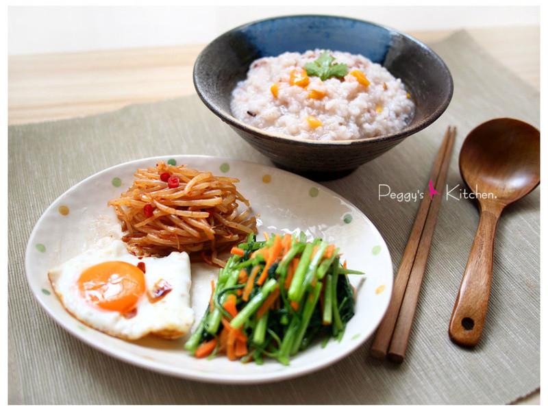《Peggy廚房》健康的五穀地瓜飯&粥