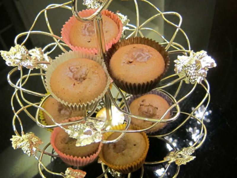 金莎巧克力杯子蛋糕~無泡打粉配方