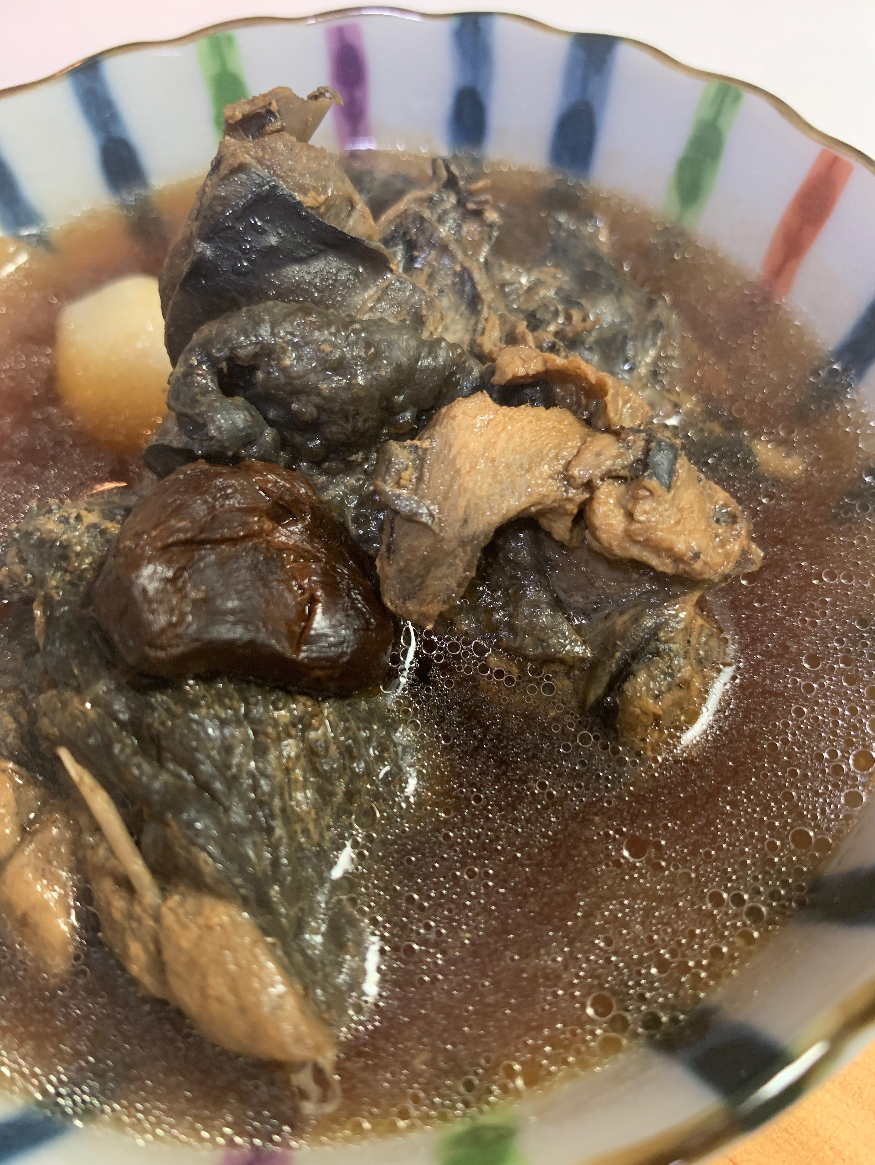 黑蒜頭烏骨雞精 精力、暖身湯