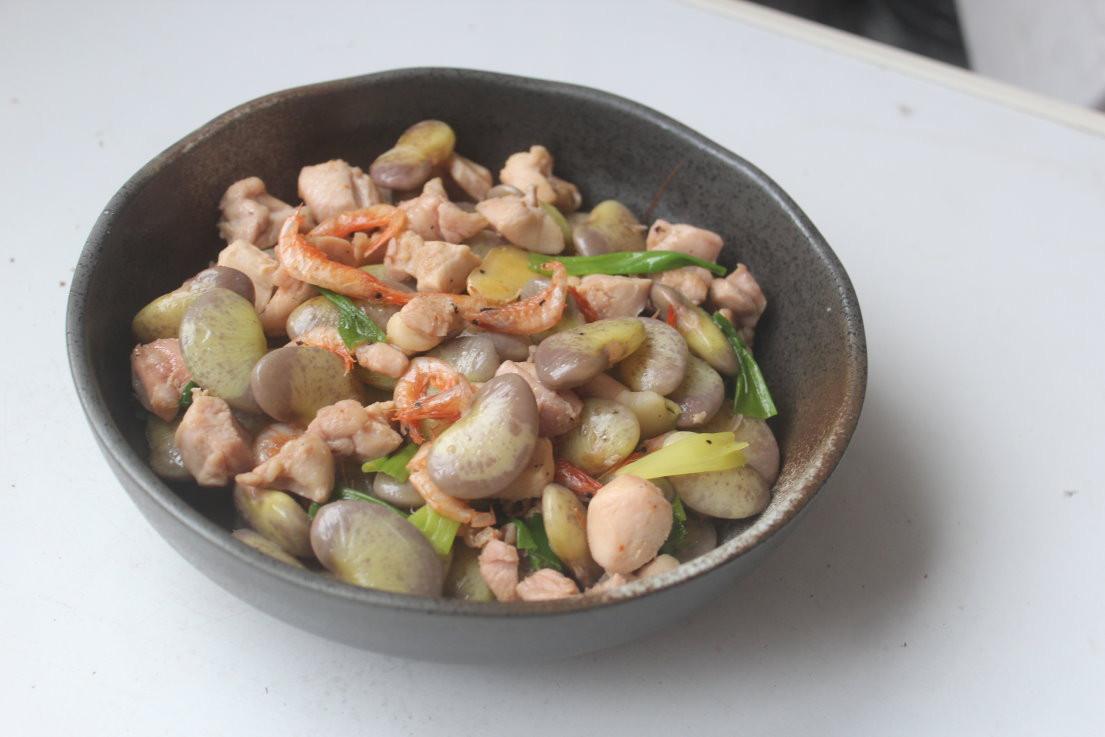 香炒皇帝豆