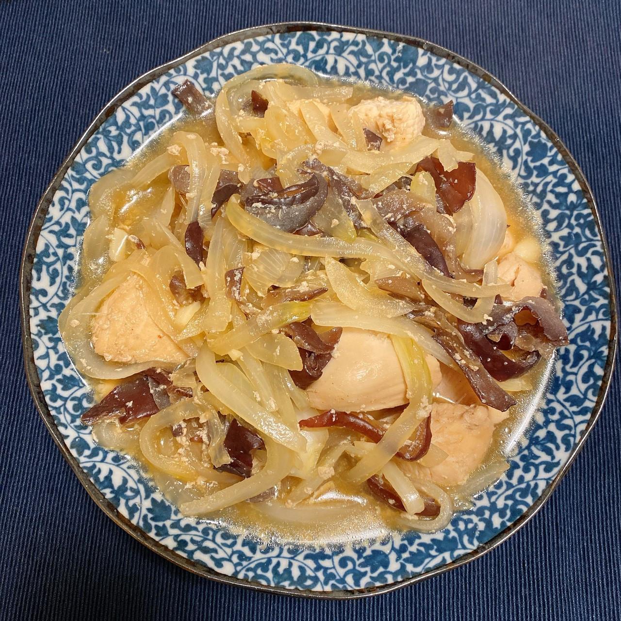 木木作羹湯|增肌減脂餐 洋蔥木耳雞胸肉