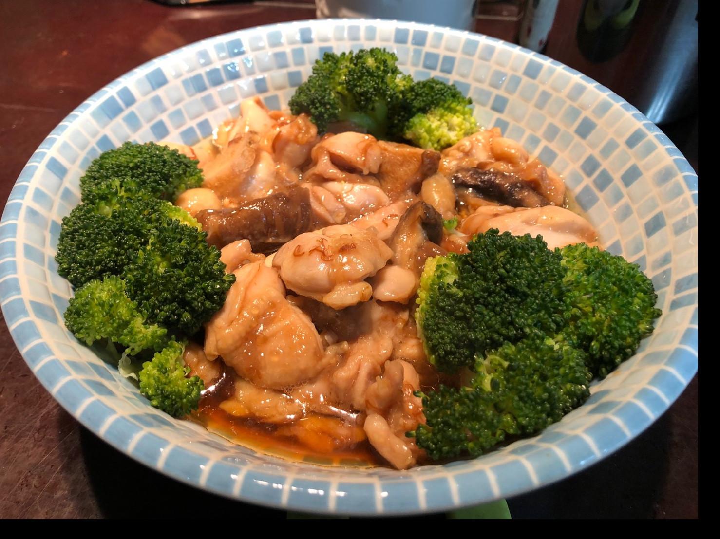 港式香菇滑雞