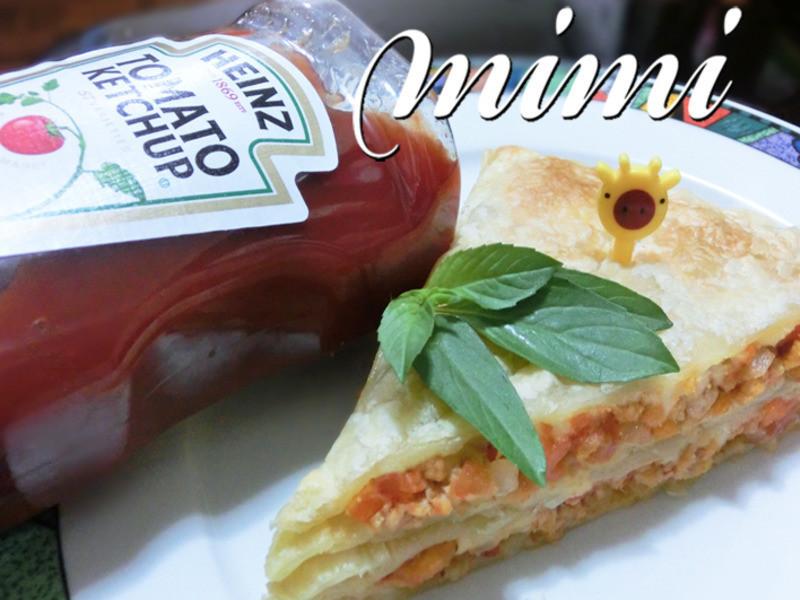 【亨式蕃茄醬100%純天然】起酥肉醬三明治