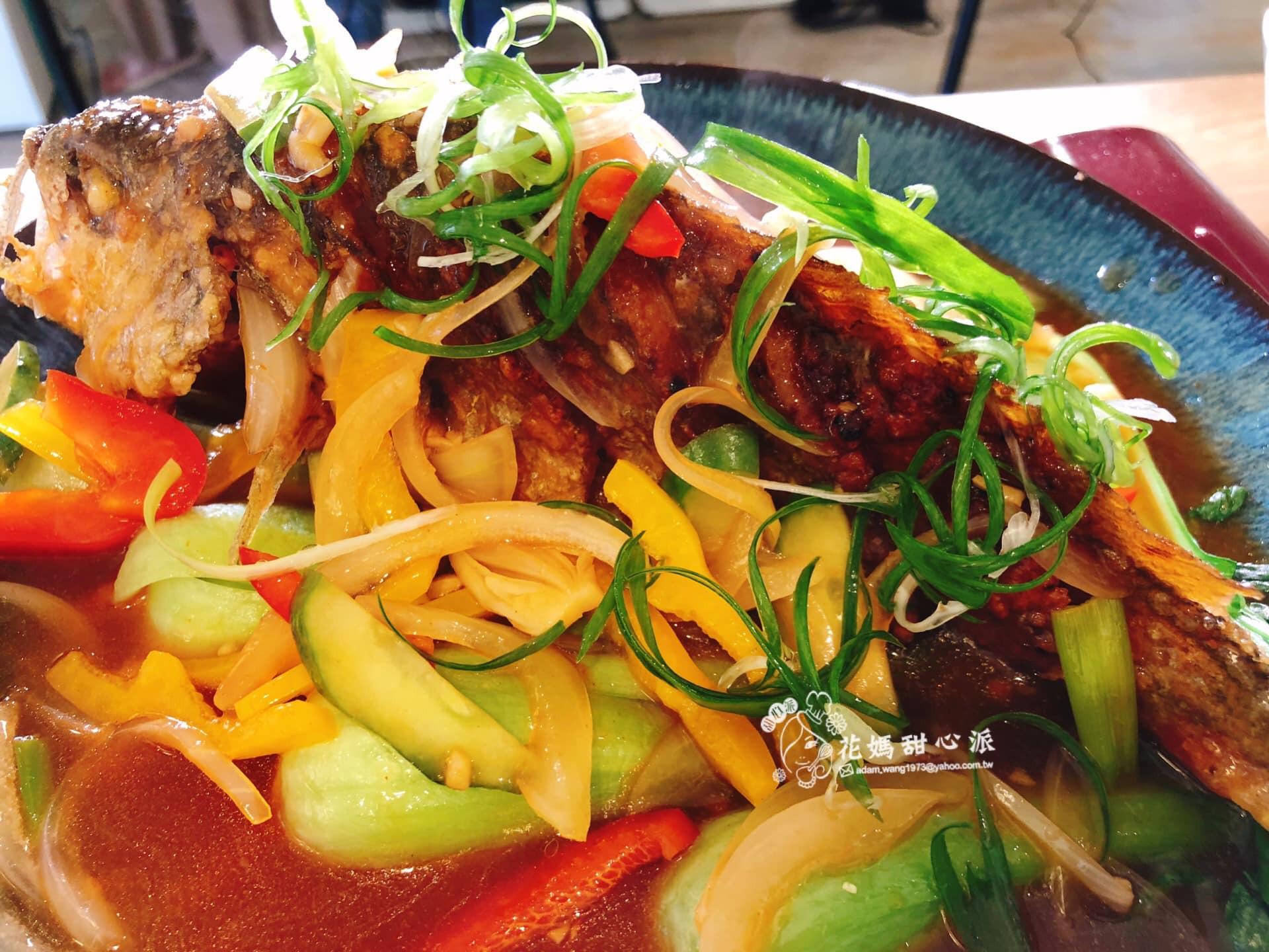糖醋黃金魚黃金(年菜料理)
