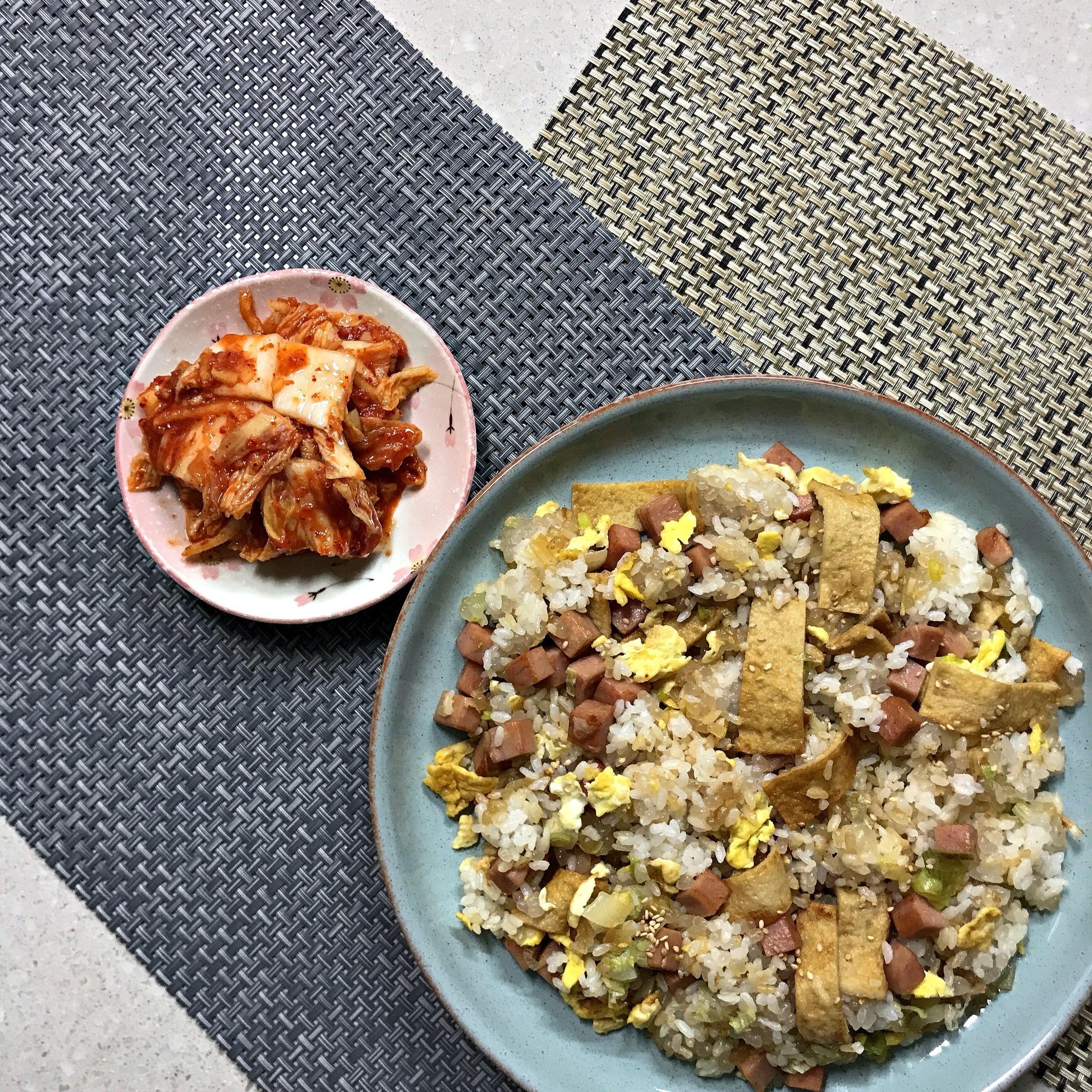 韓式魚板蛋炒飯
