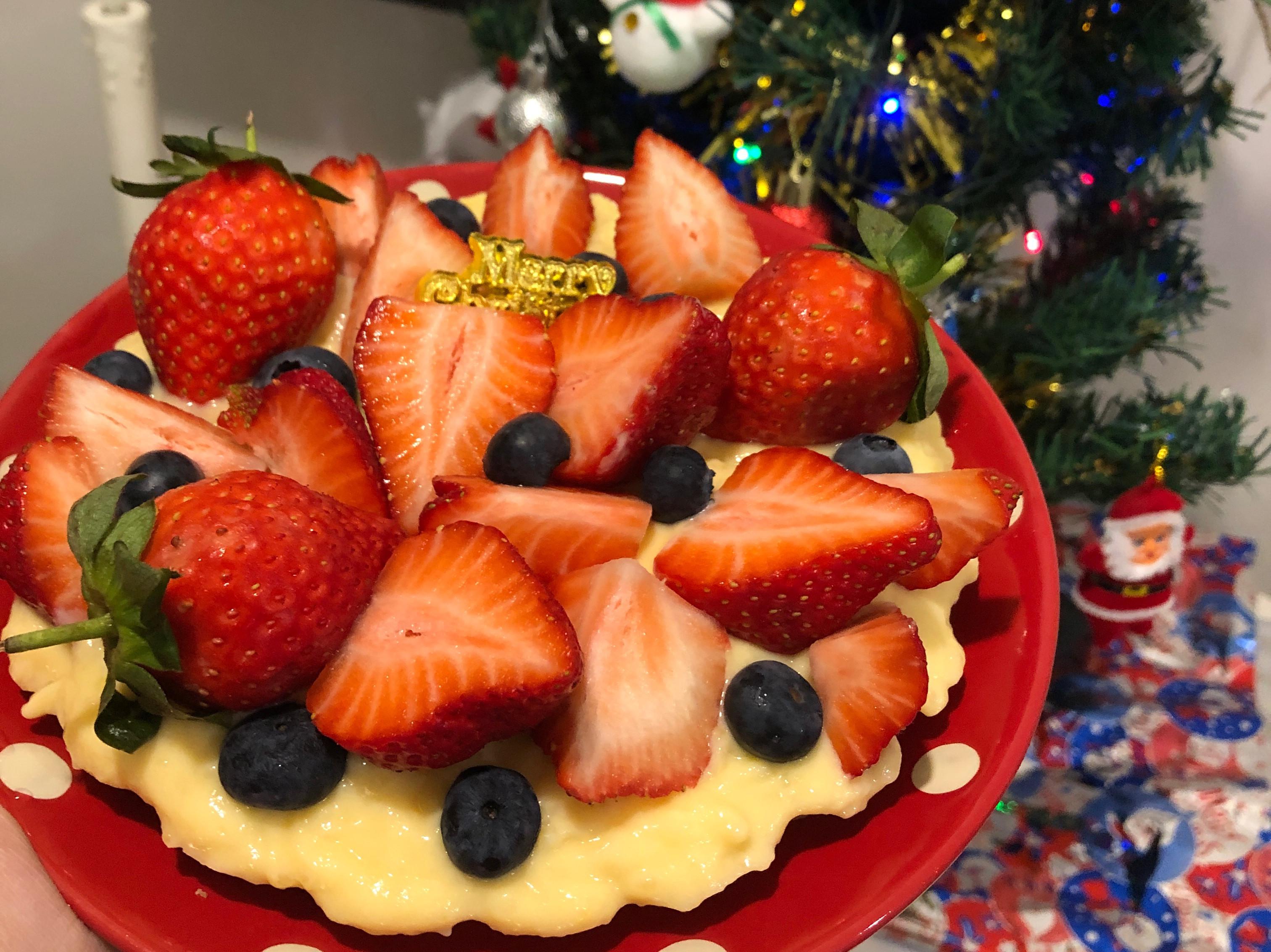 雙莓(草莓&藍莓)卡士達派