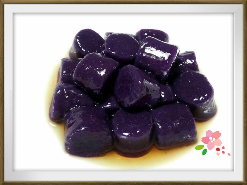 蜂蜜紫薯QQ圓