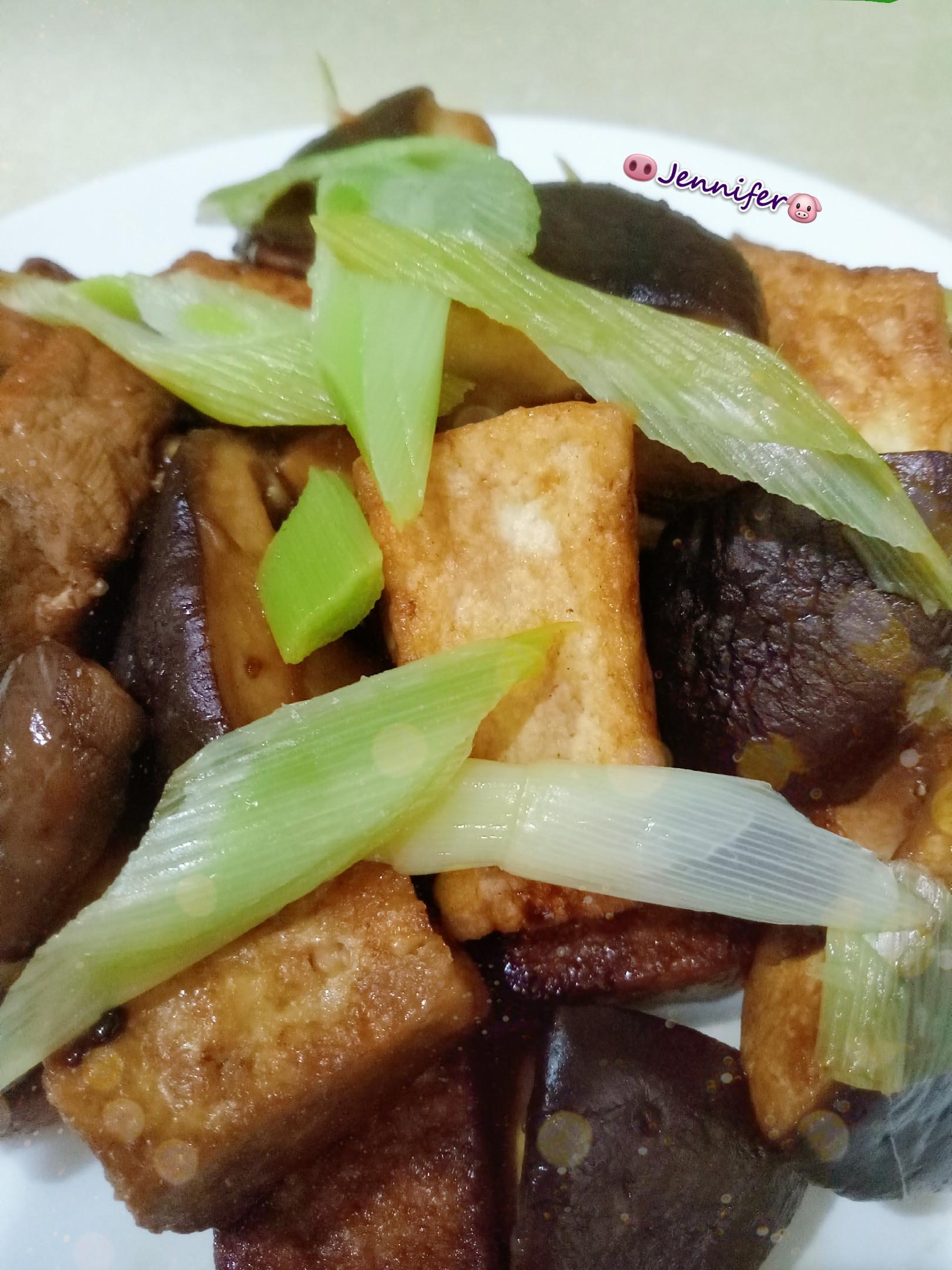 醬燒豆腐香菇