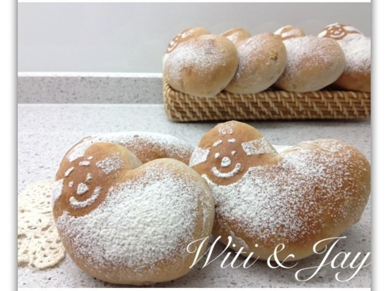 [Witi✿Kitchen](麵包機-麵包)五穀豆漿核桃麵包