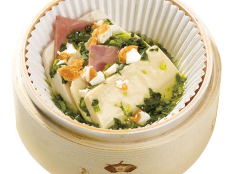 綠茶翡翠豆腐