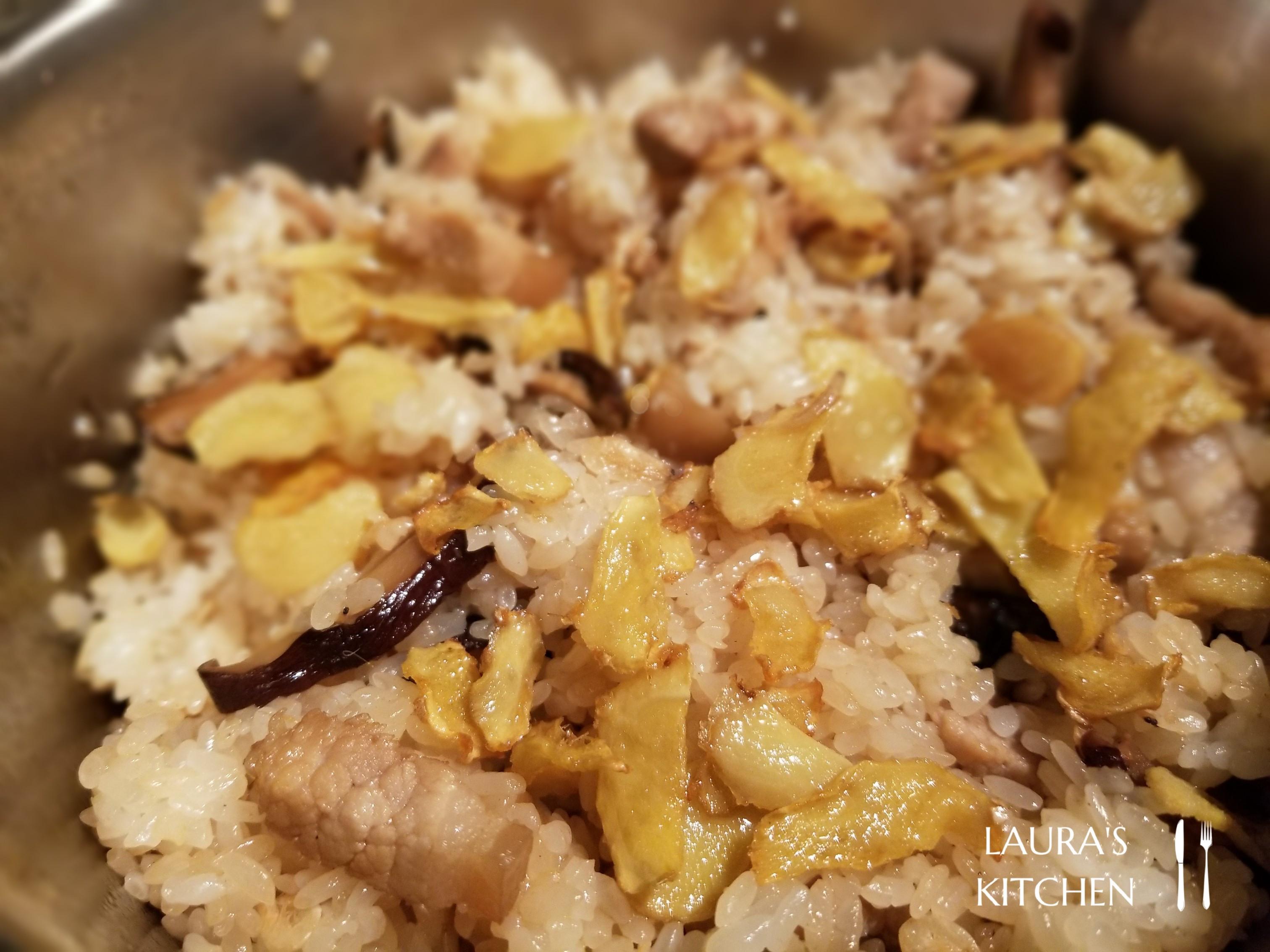 台式麻油香菇油飯