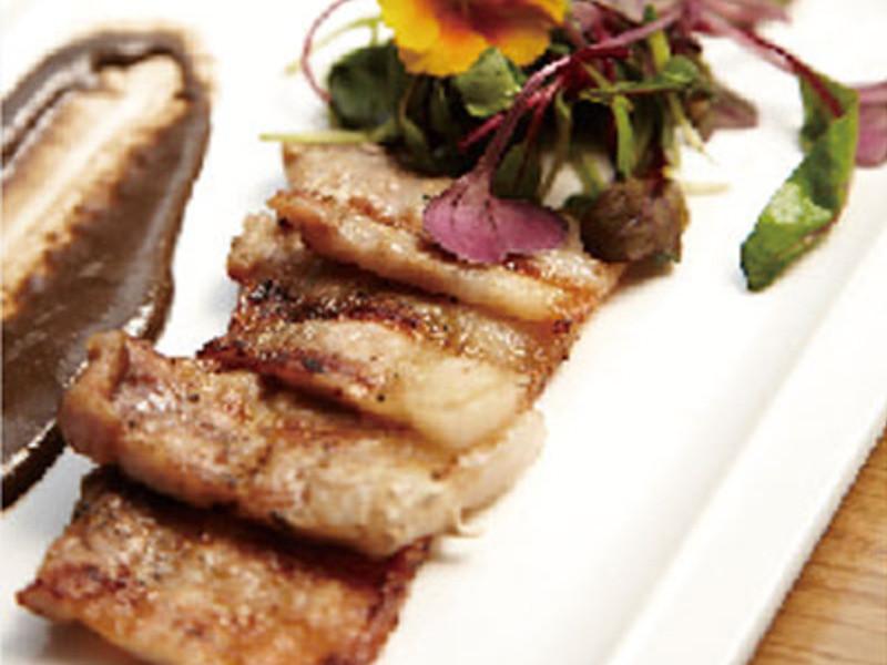 柚子風味燒烤五花肉