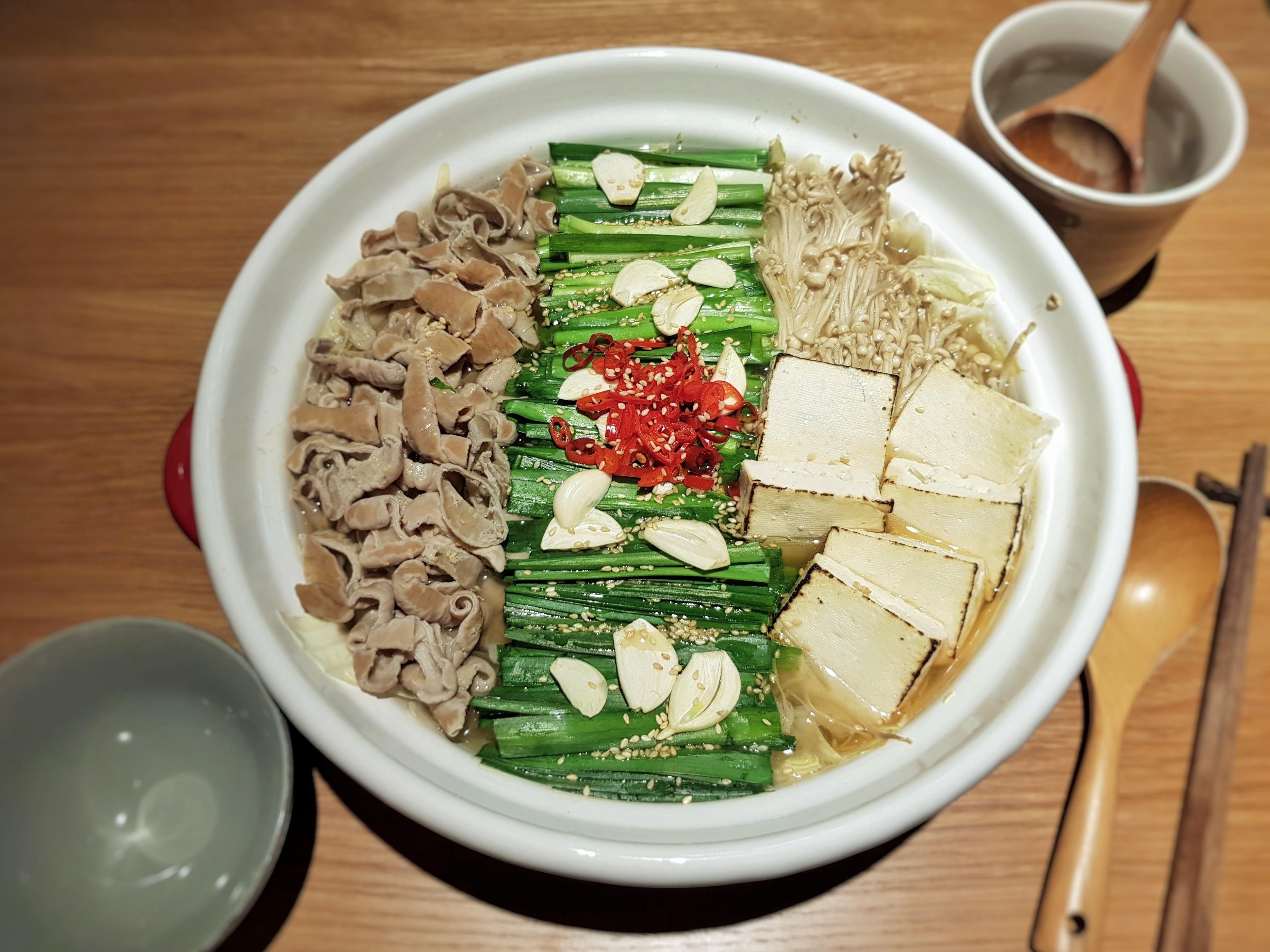 味噌牛腸鍋