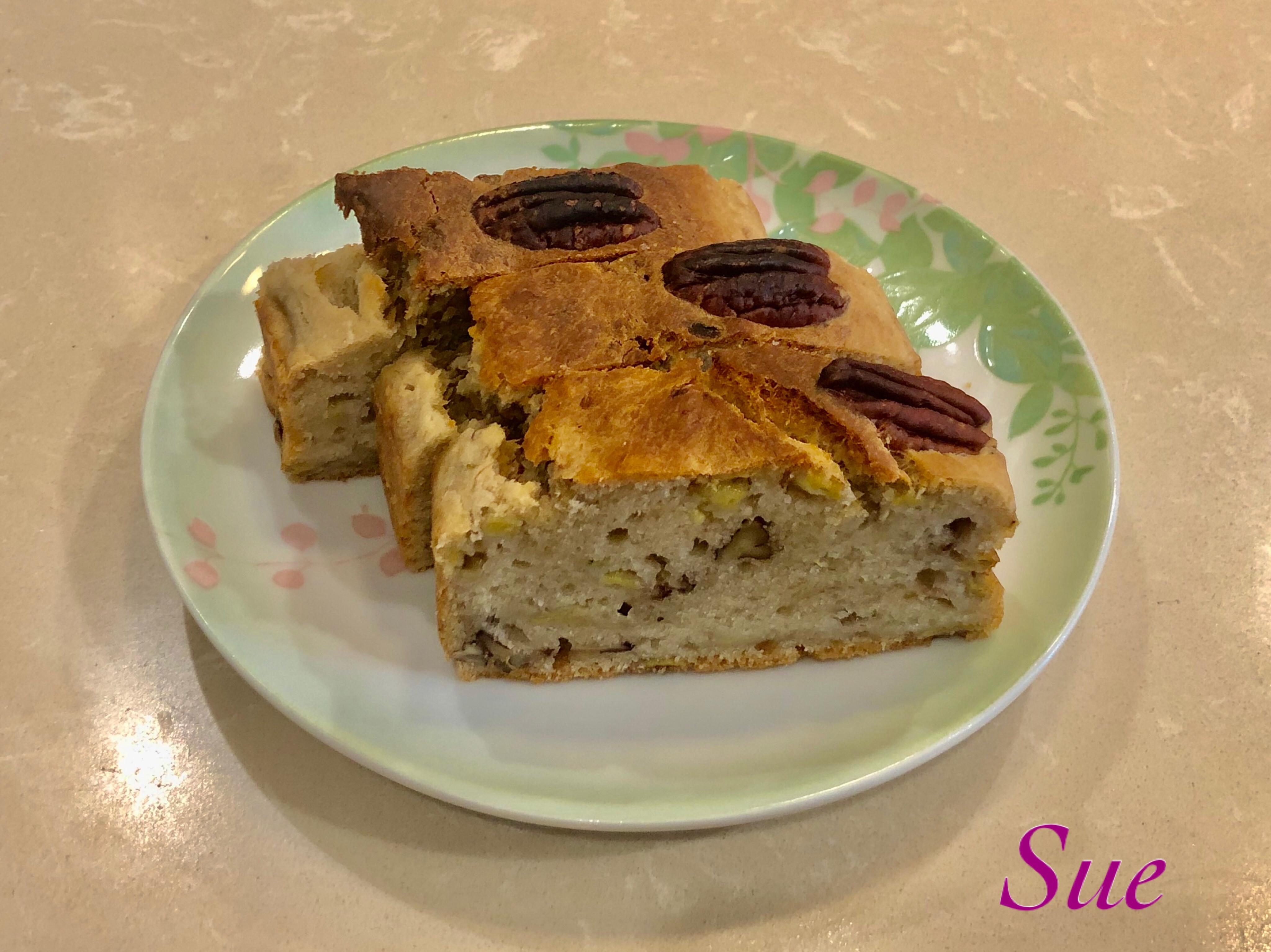 全素香蕉胡桃蛋糕