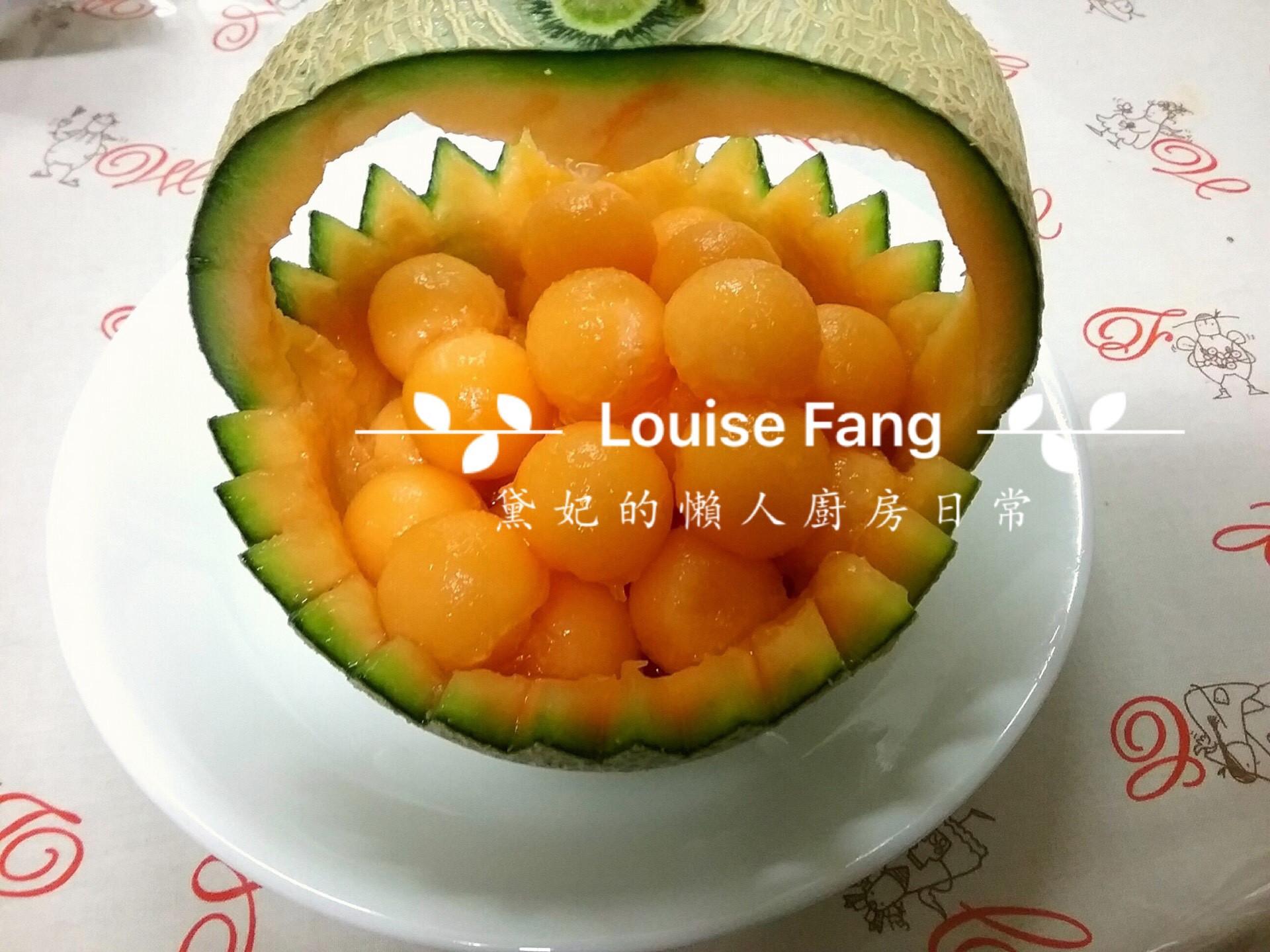 30.宴客超美的哈密瓜盅
