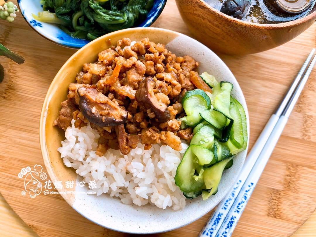 古早味蝦米肉燥飯