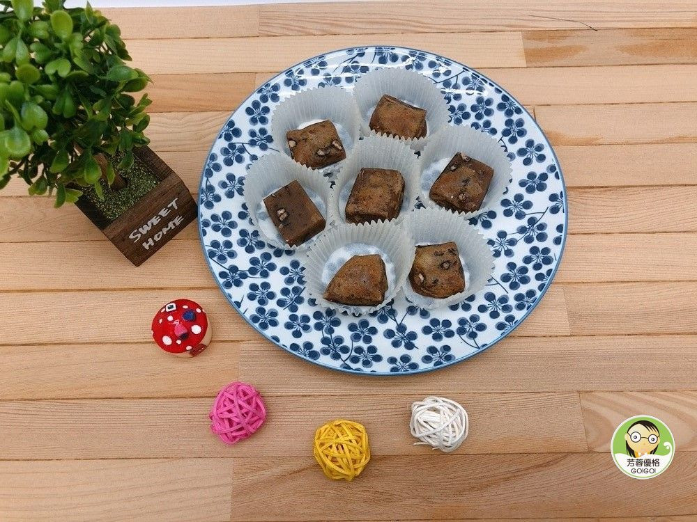 烤QQ黑糖紅豆年糕~氣炸鍋料理