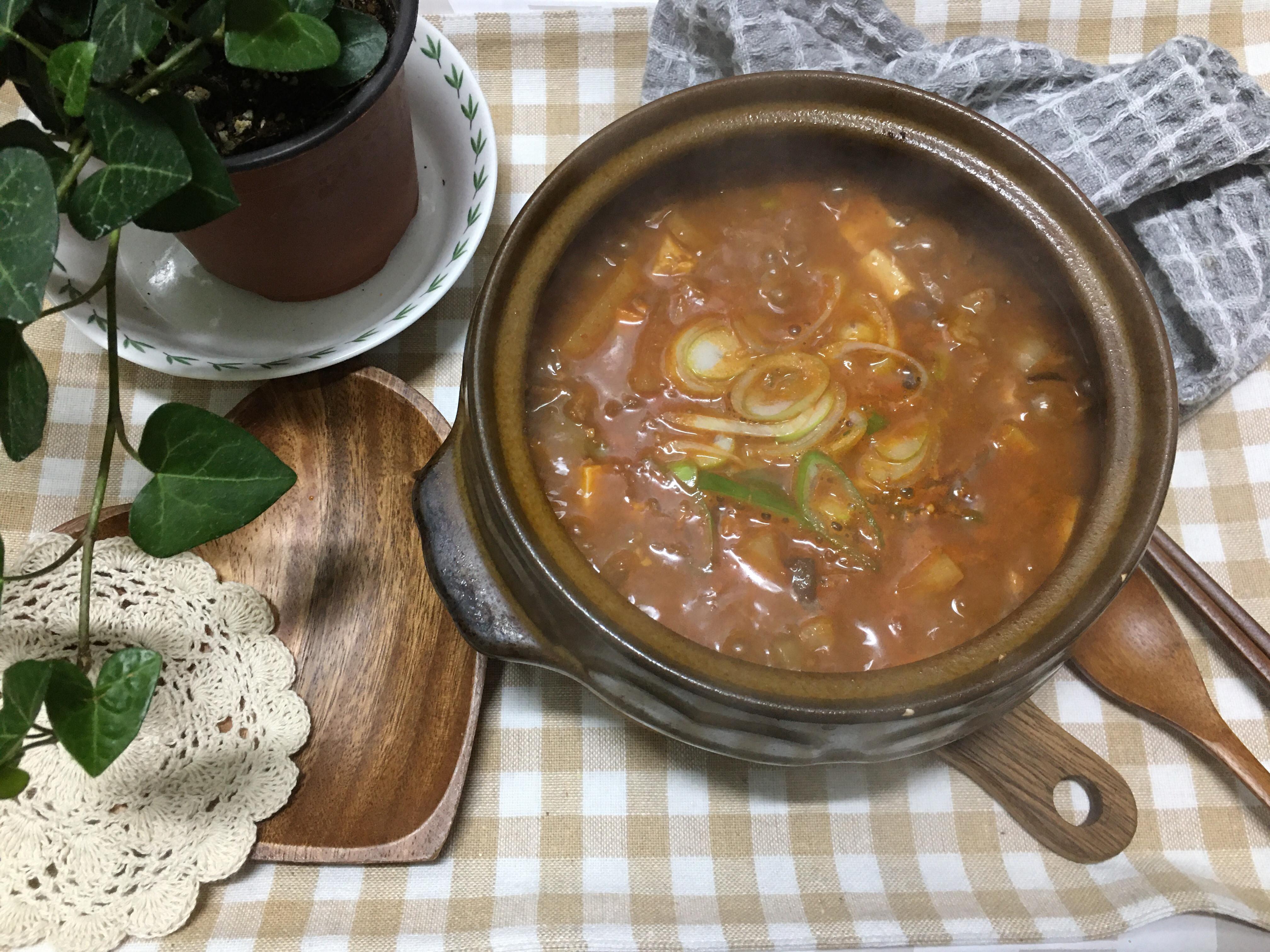 韓式大醬湯(된장찌개)