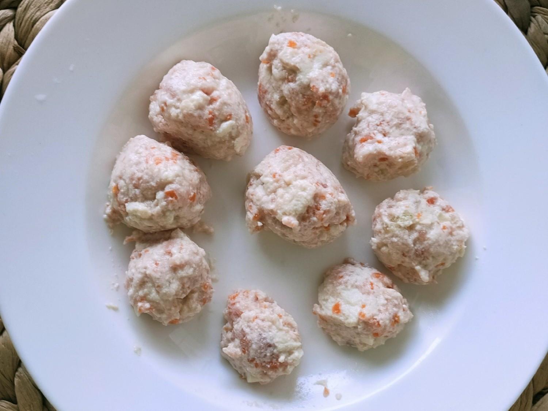 寶寶豆腐丸子