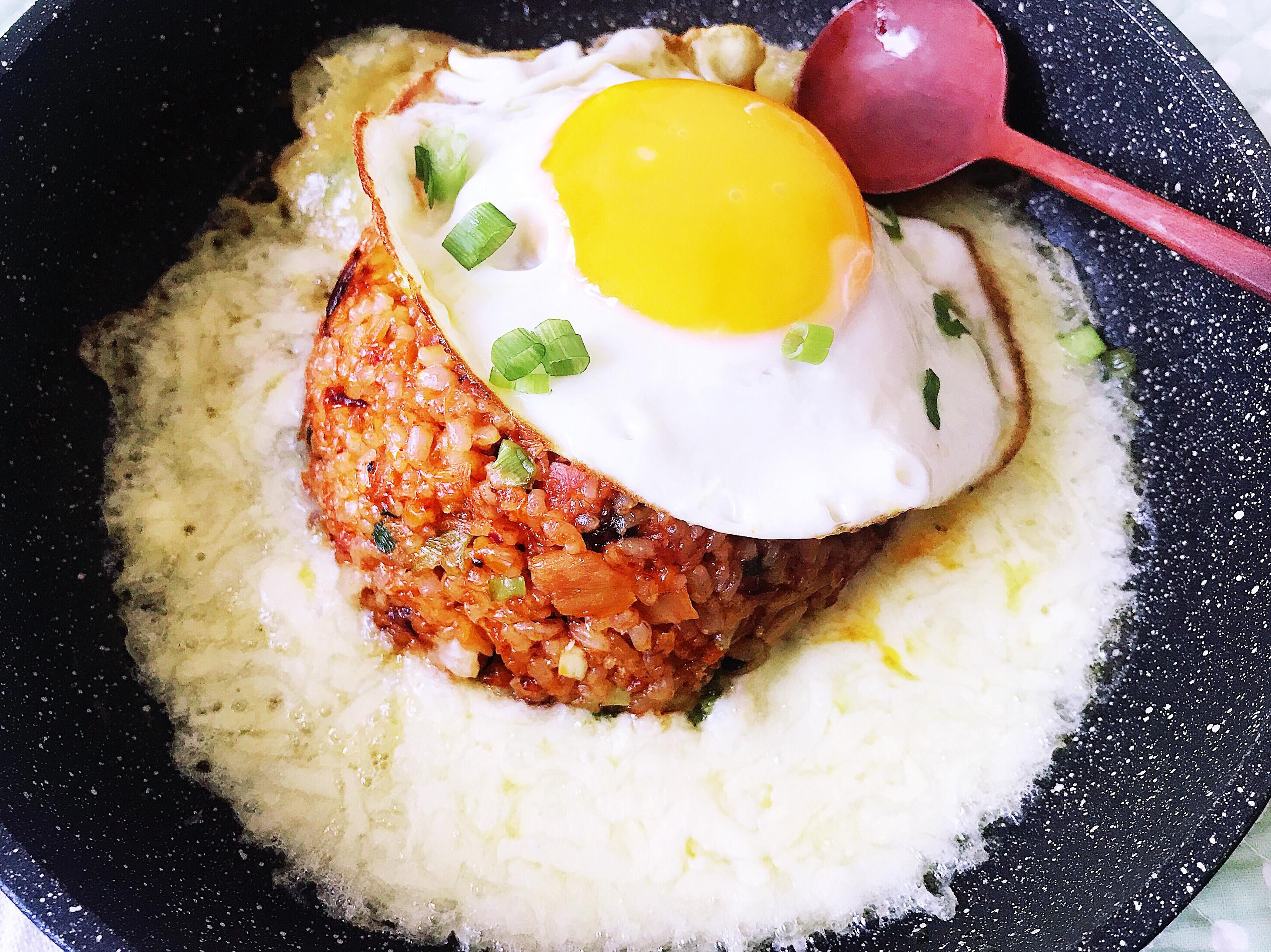 泡菜起司炒飯(簡易)