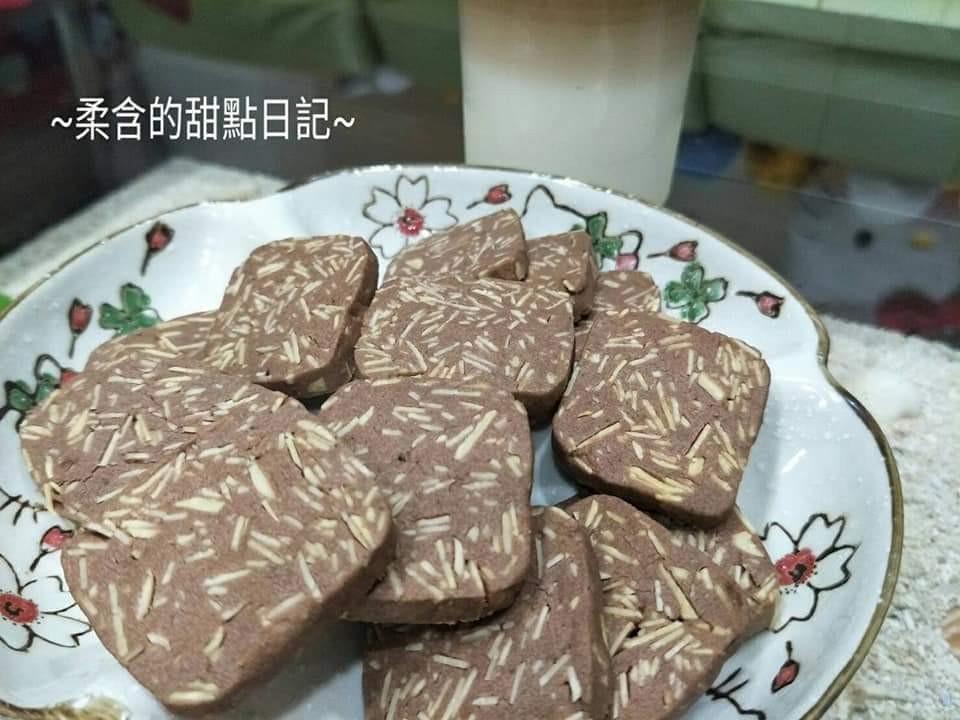巧克力杏仁餅乾❤