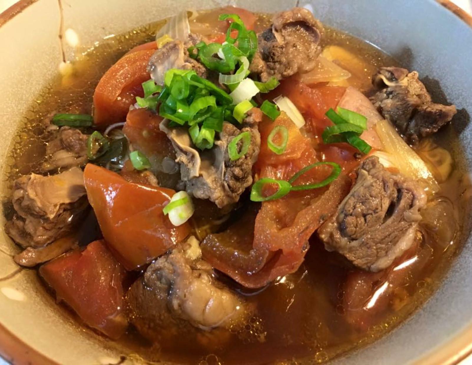 清燉蕃茄牛肉湯麵