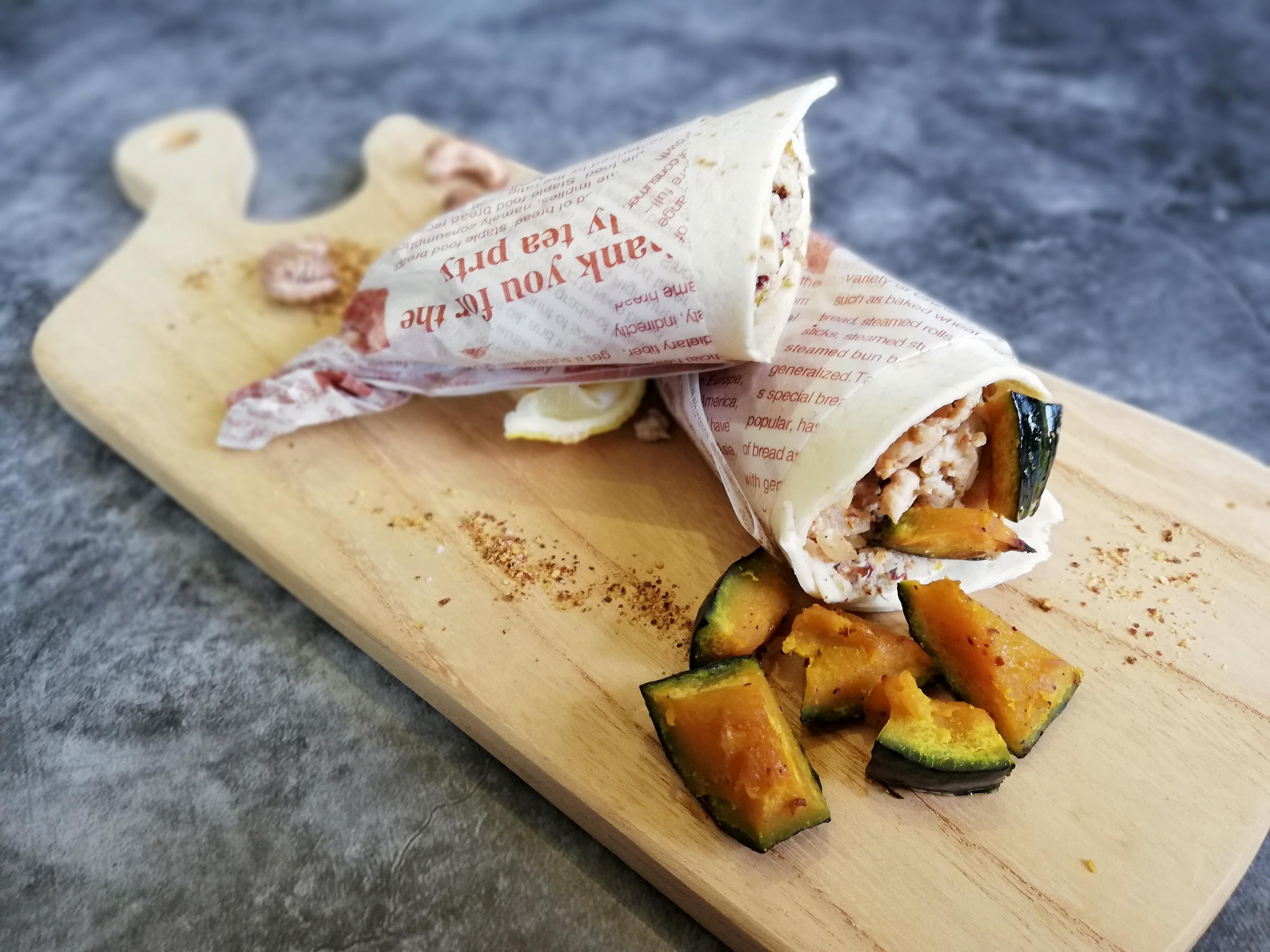 抗疫健康料理<雞肉>墨西哥香辣雞肉捲餅