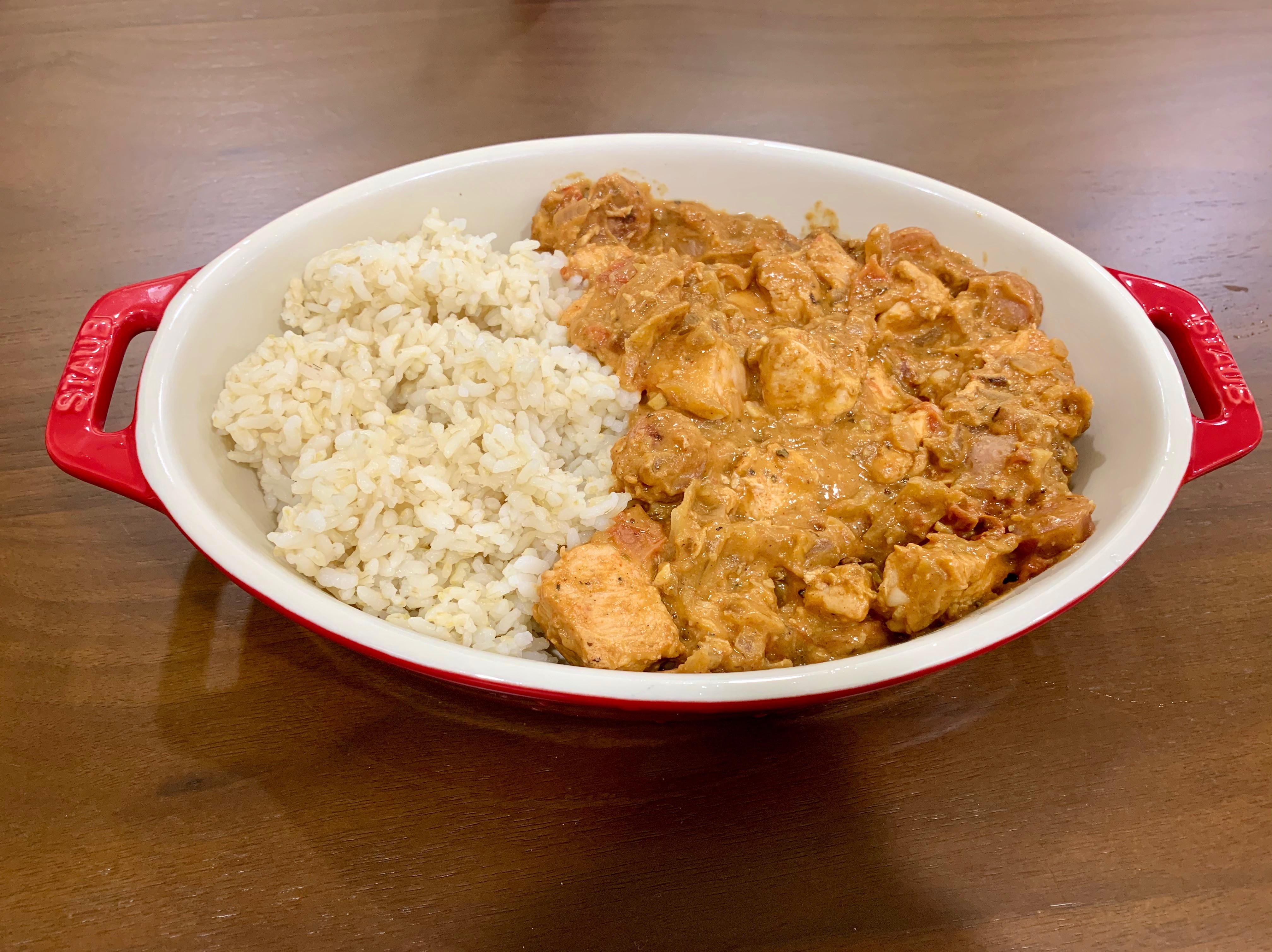 無油-低鹽-西班牙獵人花生醬燉雞