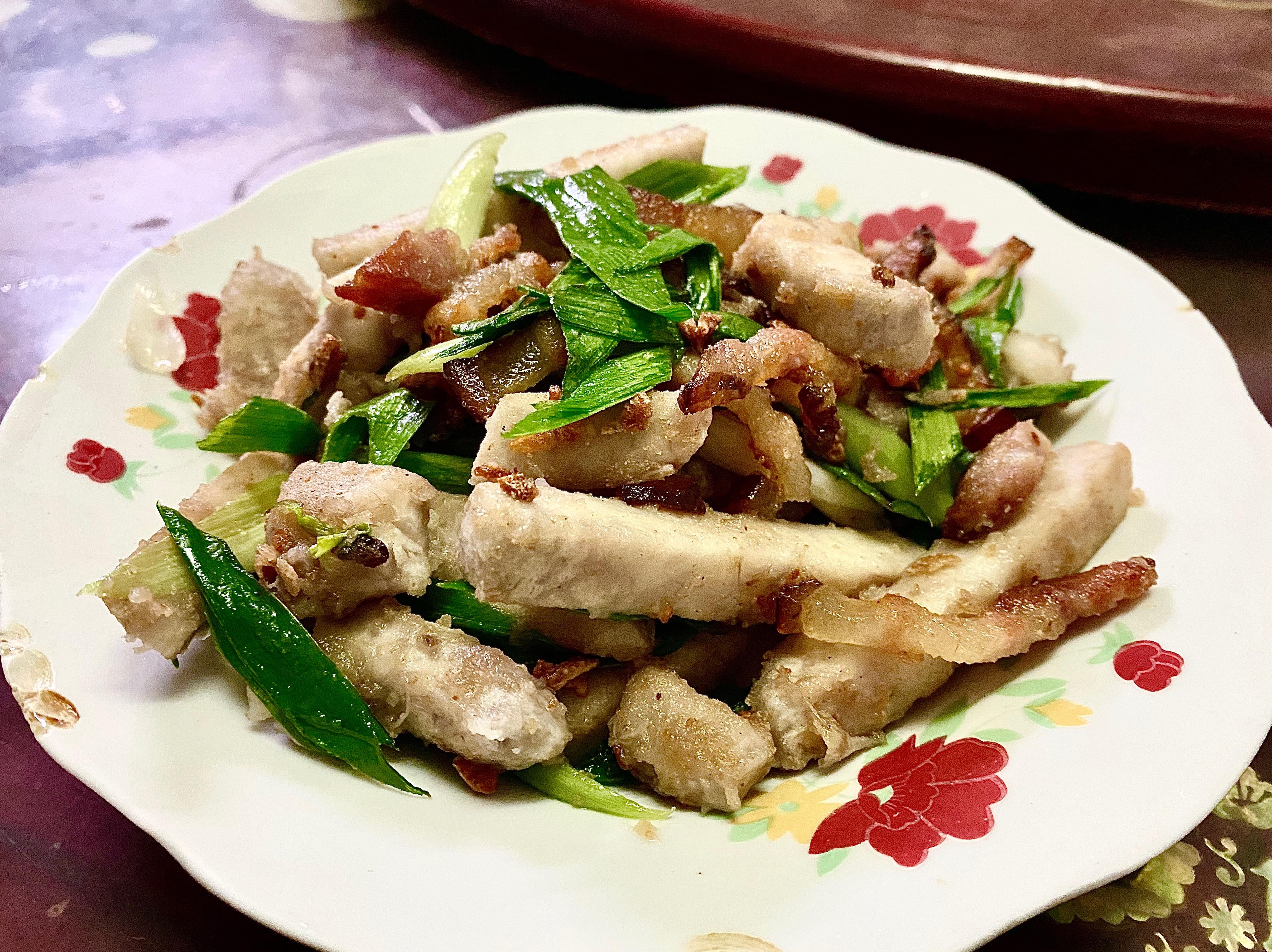 酥香芋頭臘肉