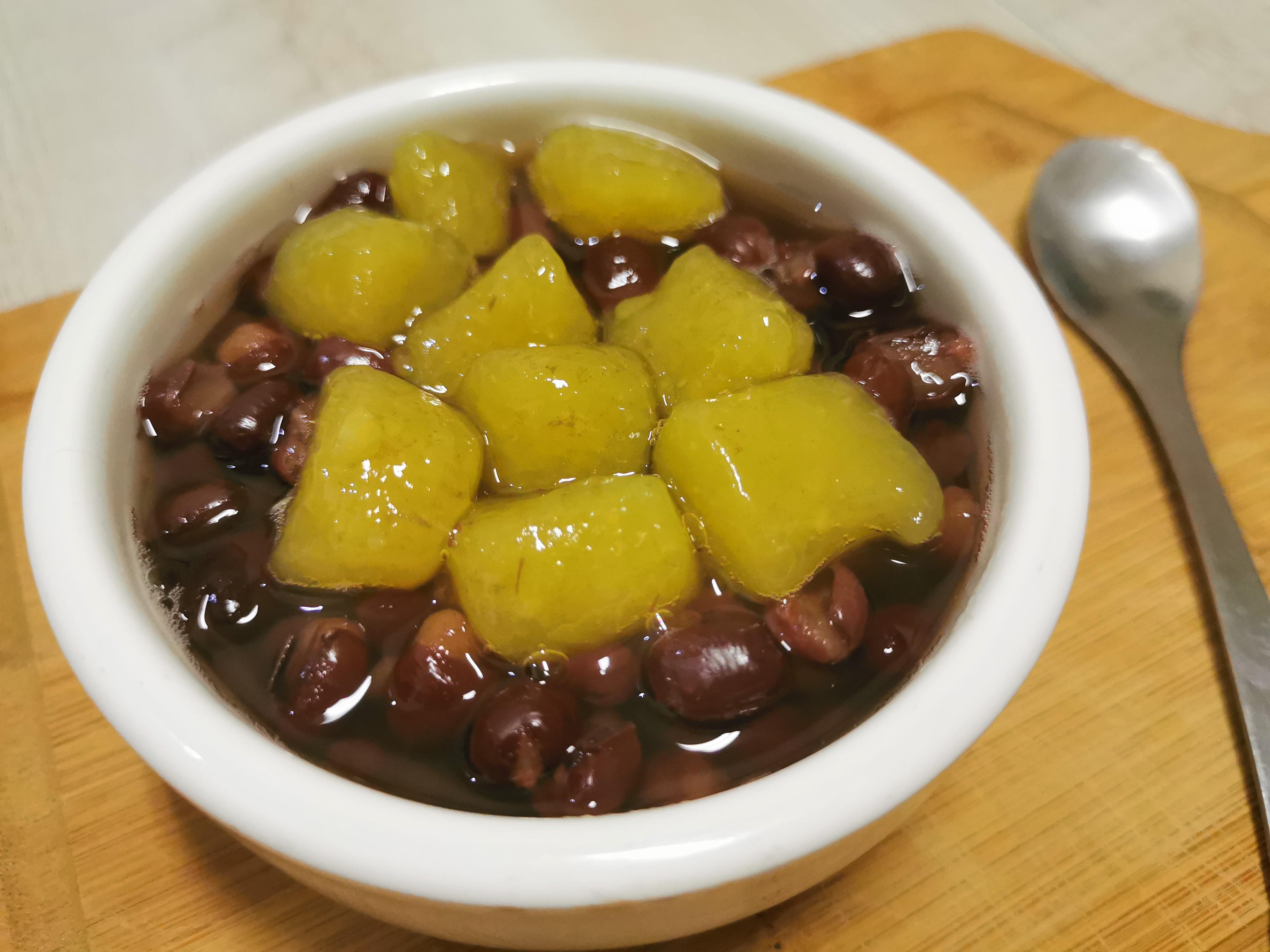 元宵-地瓜圓紅豆湯