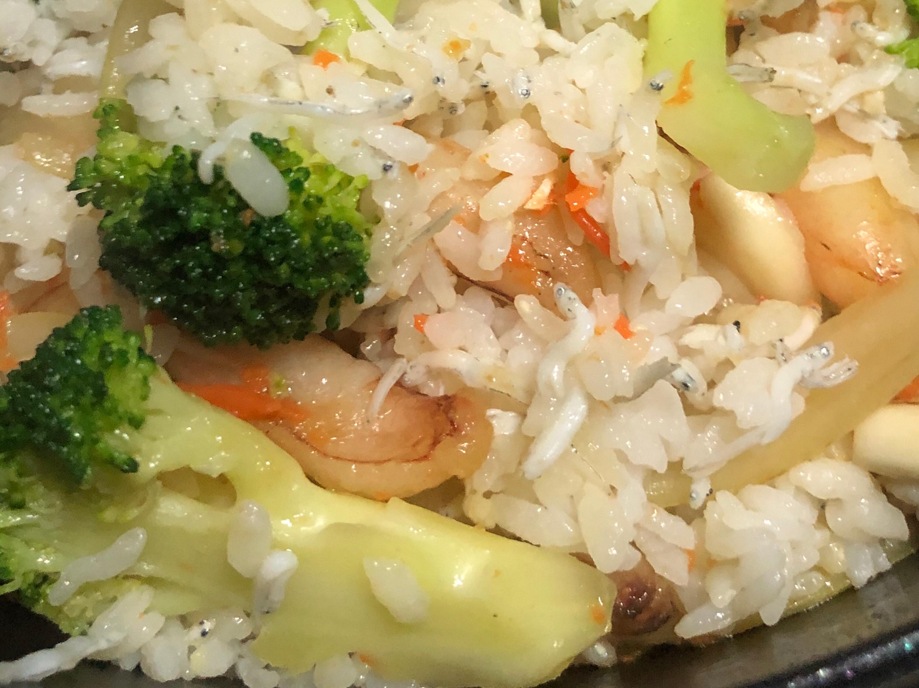 蟹管肉炒飯(寶寶副食品1Y2M)全聯食譜