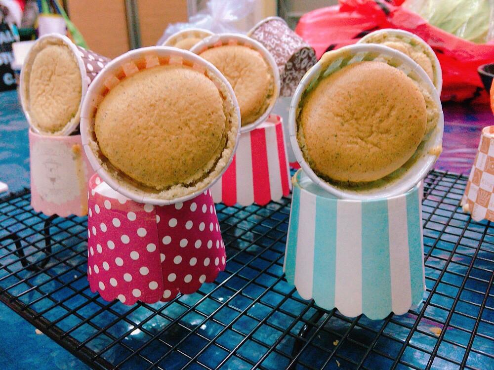 蜜香紅茶戚風蛋糕☕️+🍰 杯子蛋糕🧁