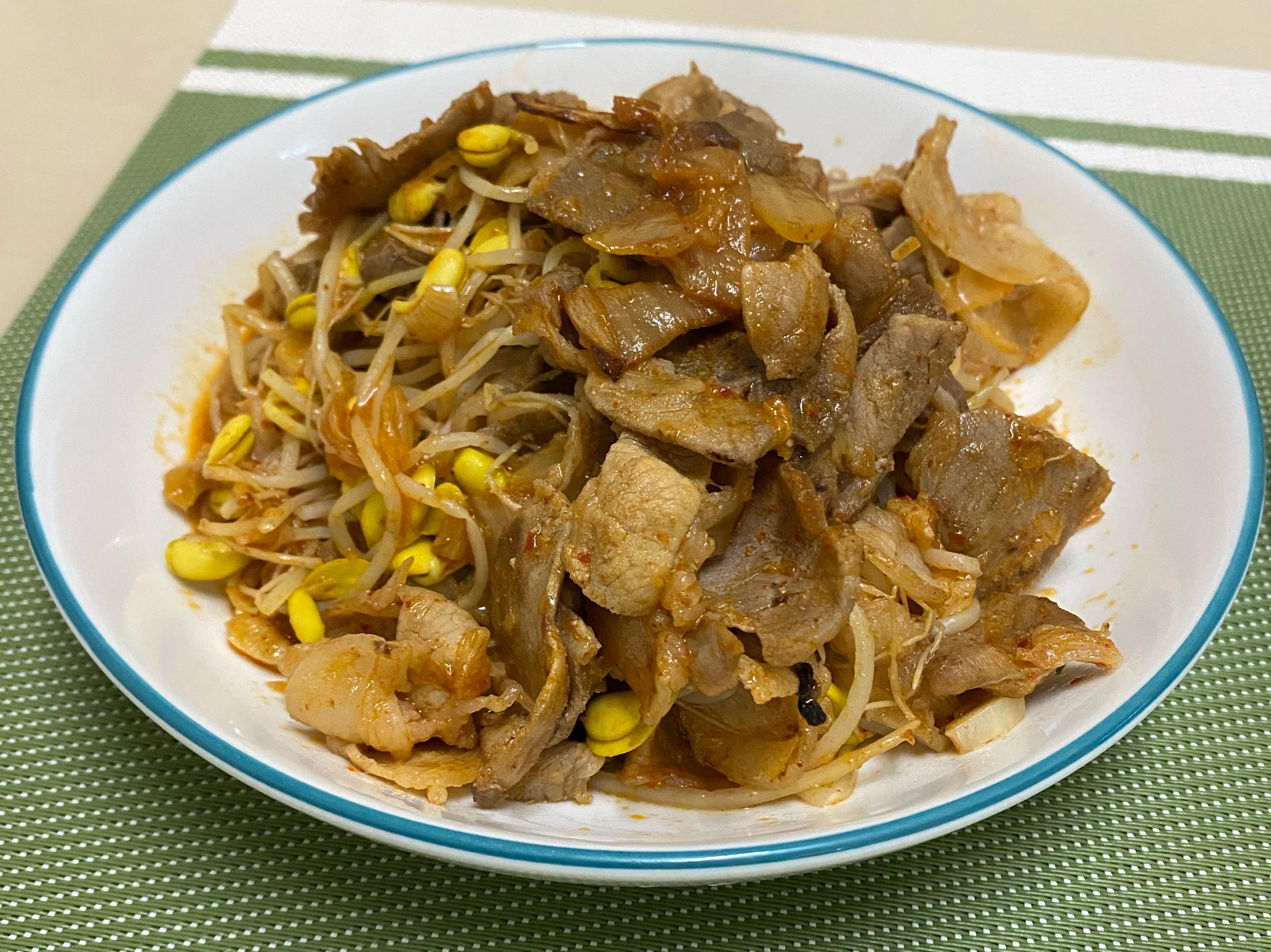 泡菜豆芽燒肉