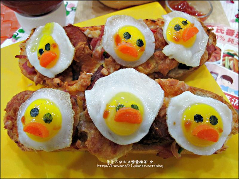 「亨氏番茄醬‧100%純天然」小鴨子大亨堡披蕯!!