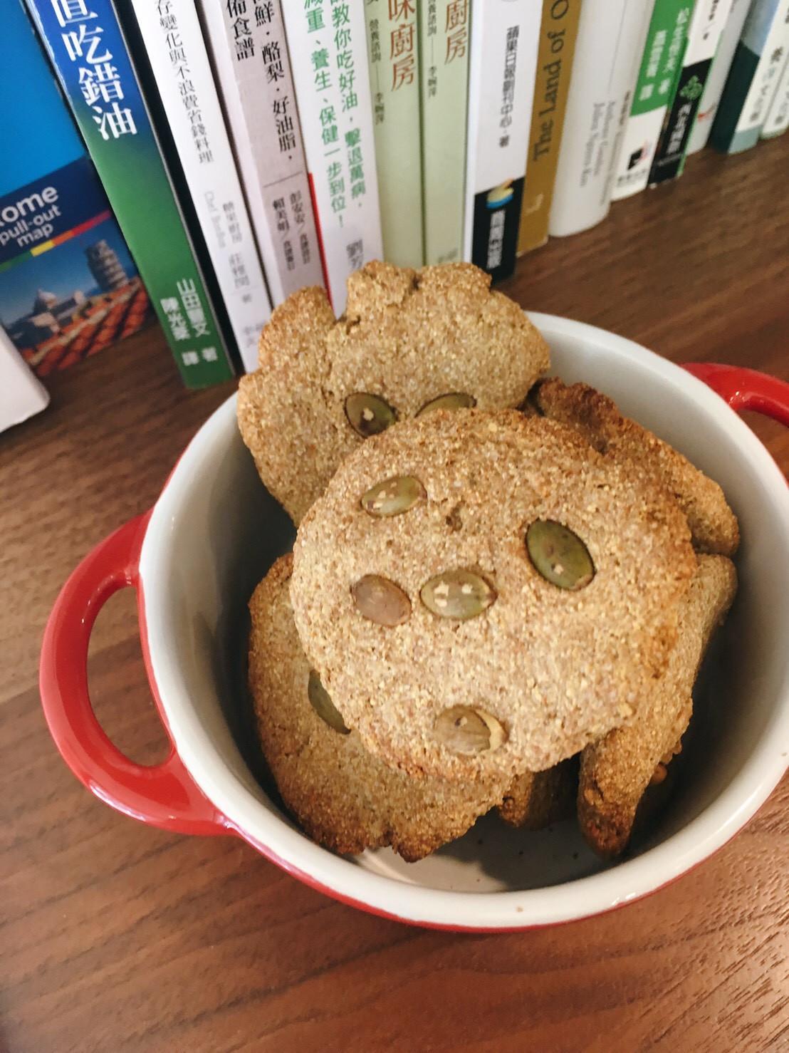 堅果餅乾(無奶油)