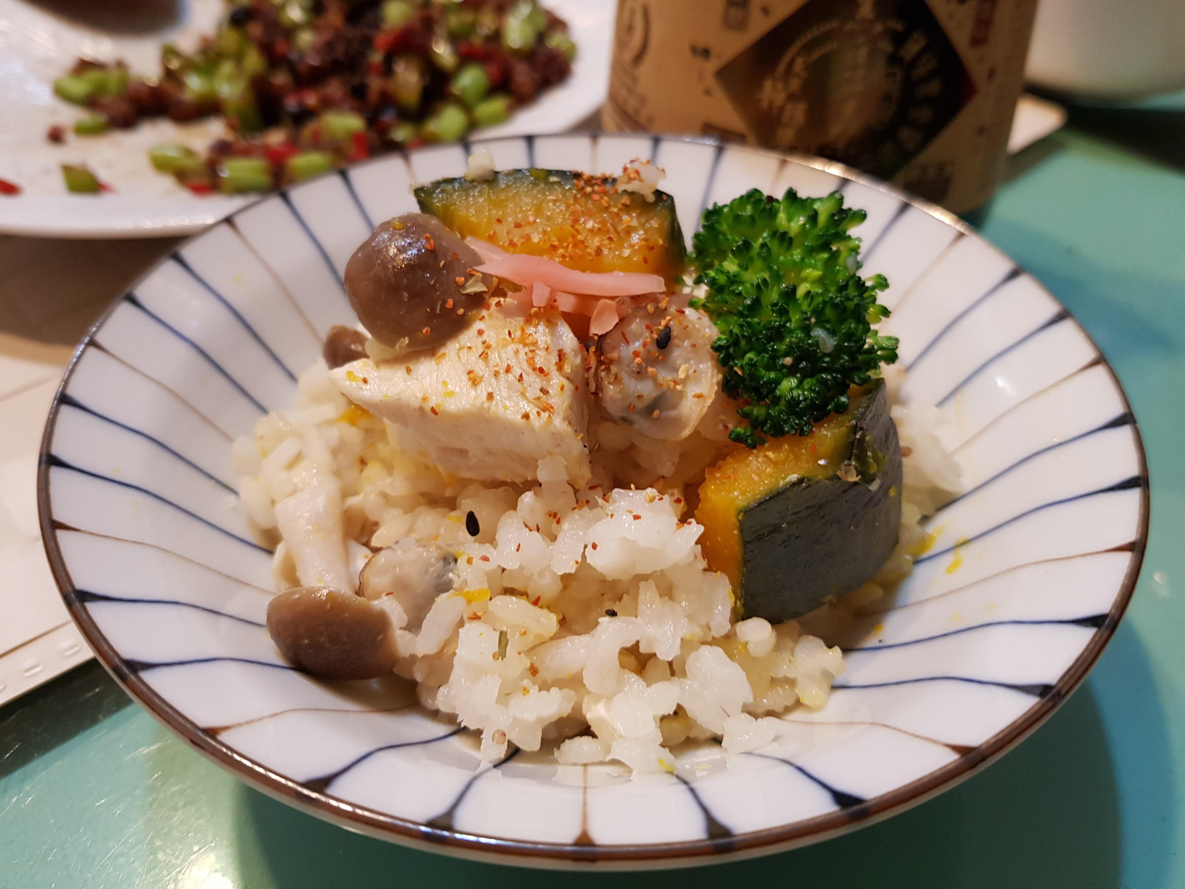 日式南瓜蛤蜊雞肉炊飯