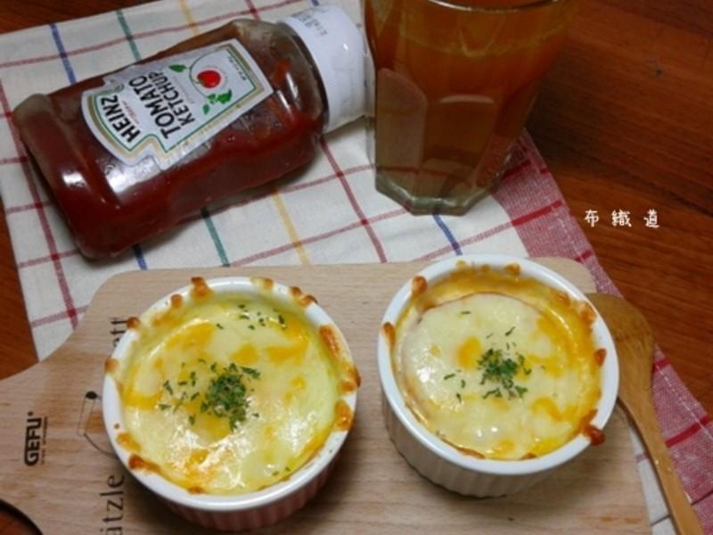 【亨氏蕃茄醬100%純天然】焗烤茄汁薯泥(只要4個步驟就可上菜)