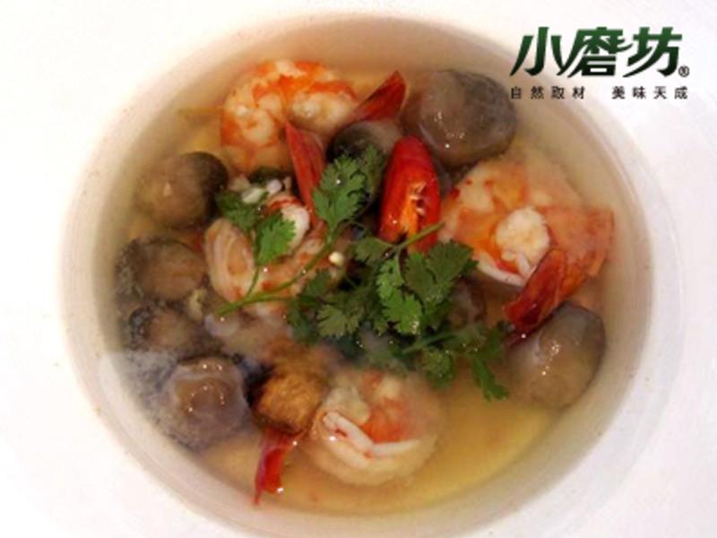 【小磨坊】南洋酸辣蝦湯