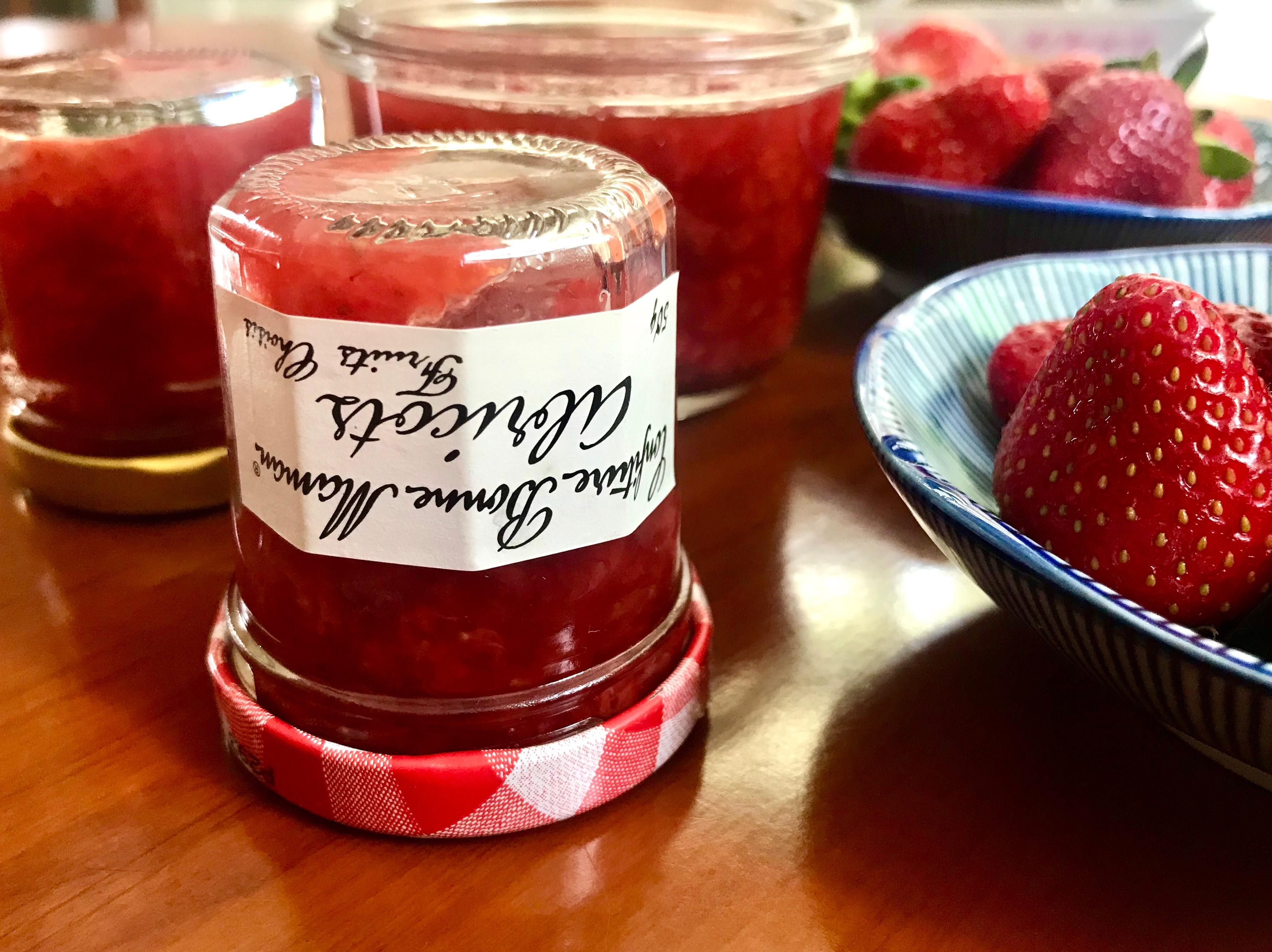 有層次草莓金桔醬