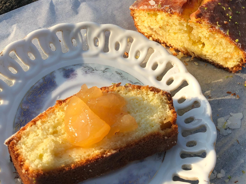 檸檬蘋果磅蛋糕