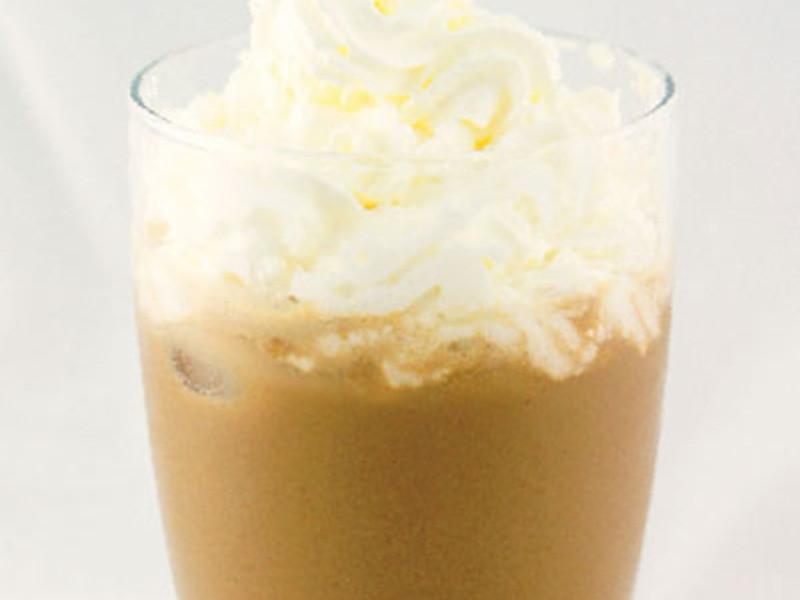 白咖啡豆乳飲