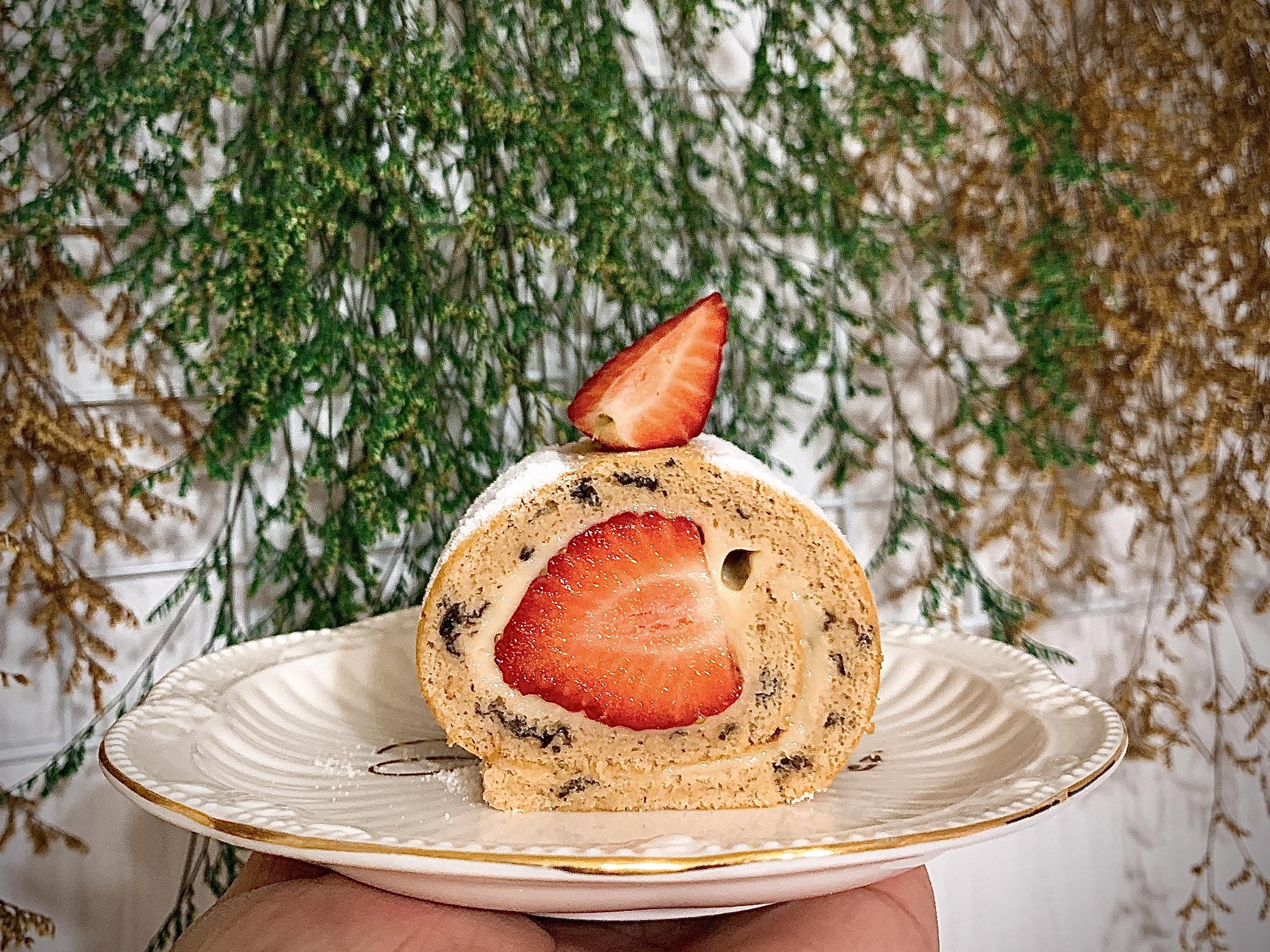草莓生乳捲🍓