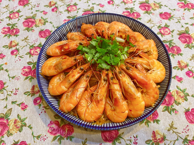 辦桌料理《鮮蝦冬粉煲》