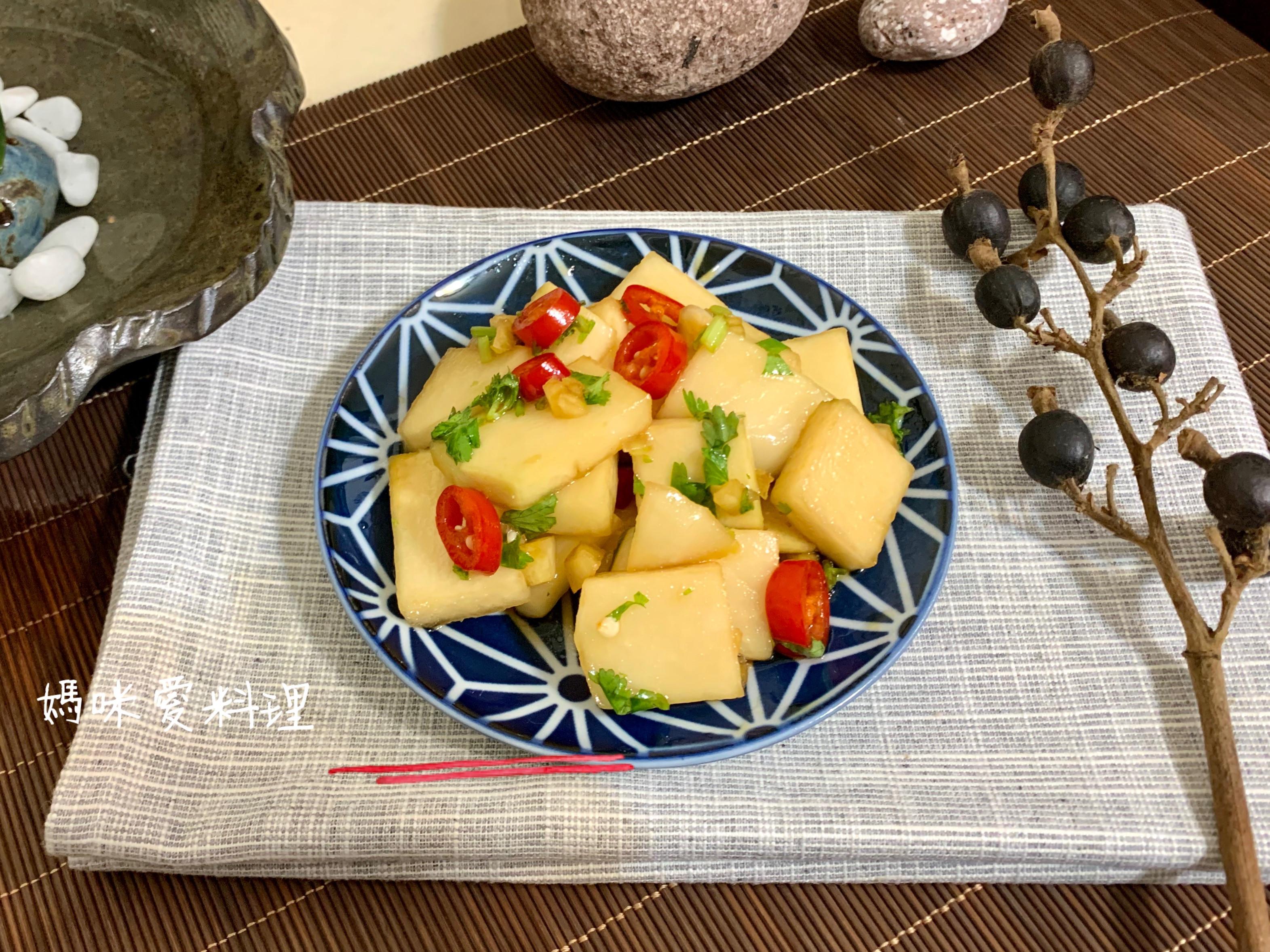 涼拌大頭菜(結頭菜)