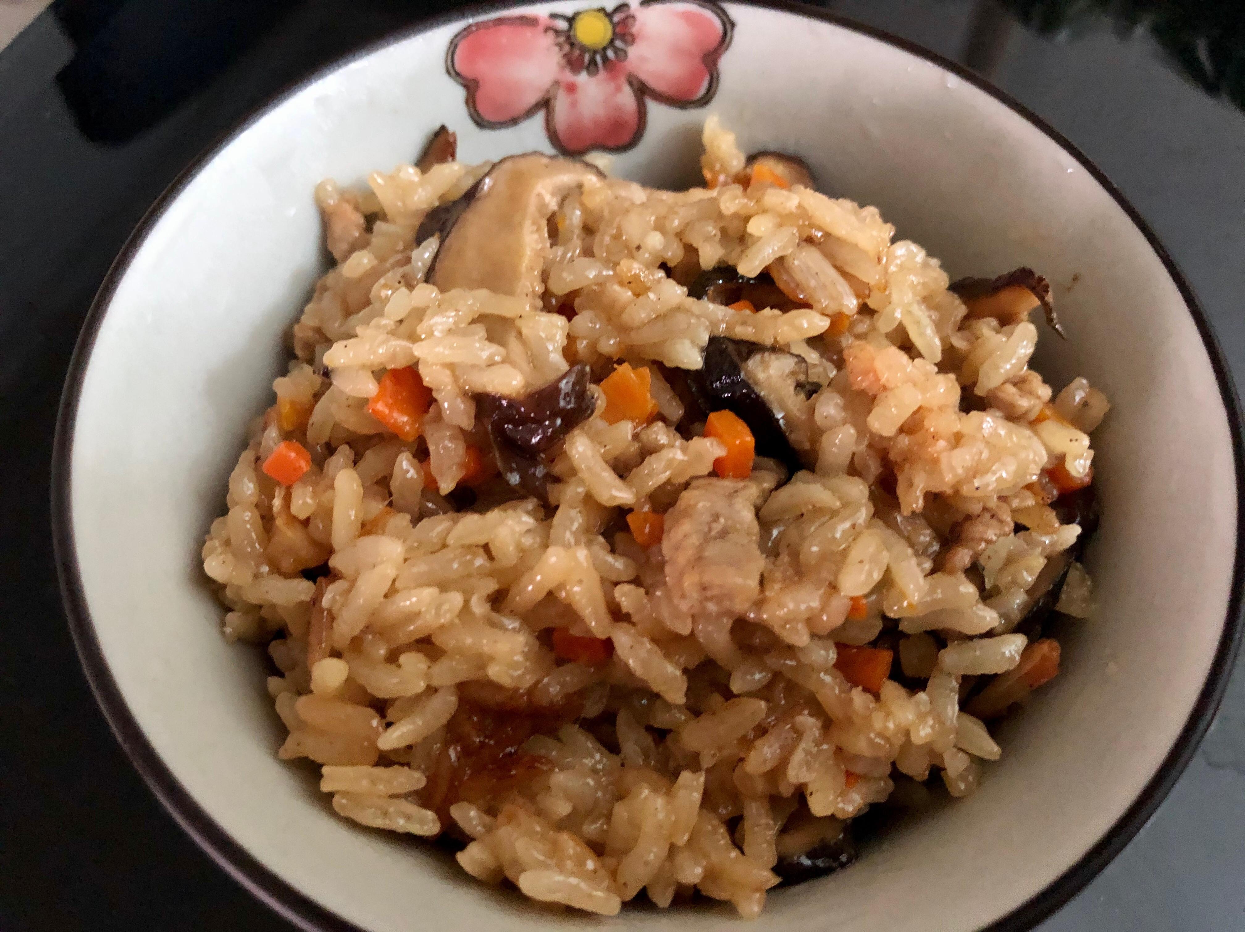 飛利浦萬用鍋-古早味油飯